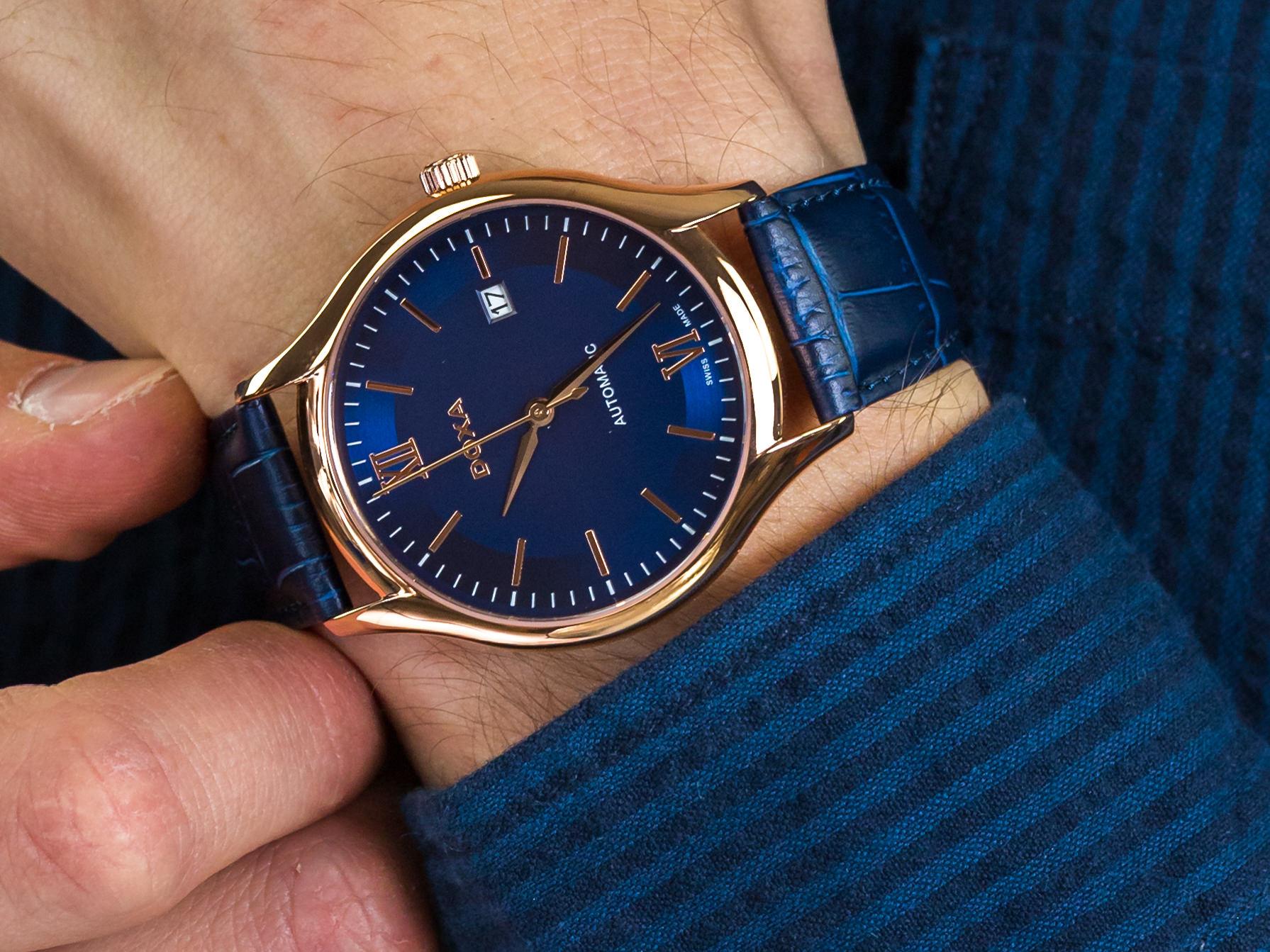 Doxa 216.90.202.03 Challenge Automatic zegarek klasyczny Challenge