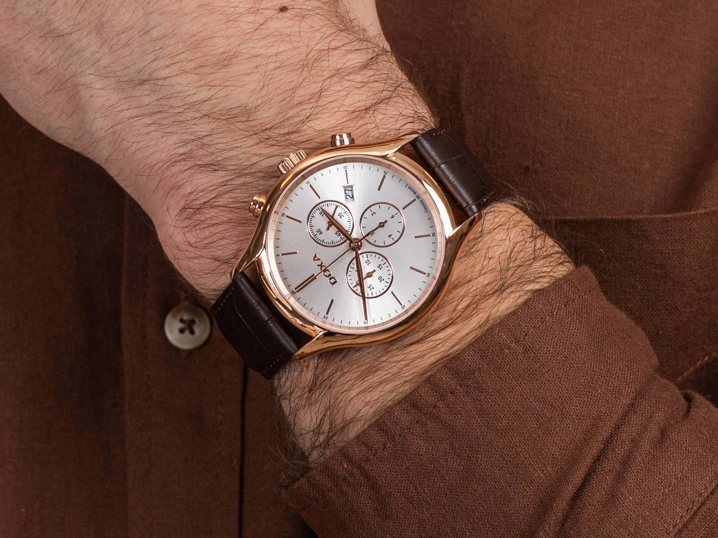 Doxa 218.90.021.02 zegarek klasyczny Challenge