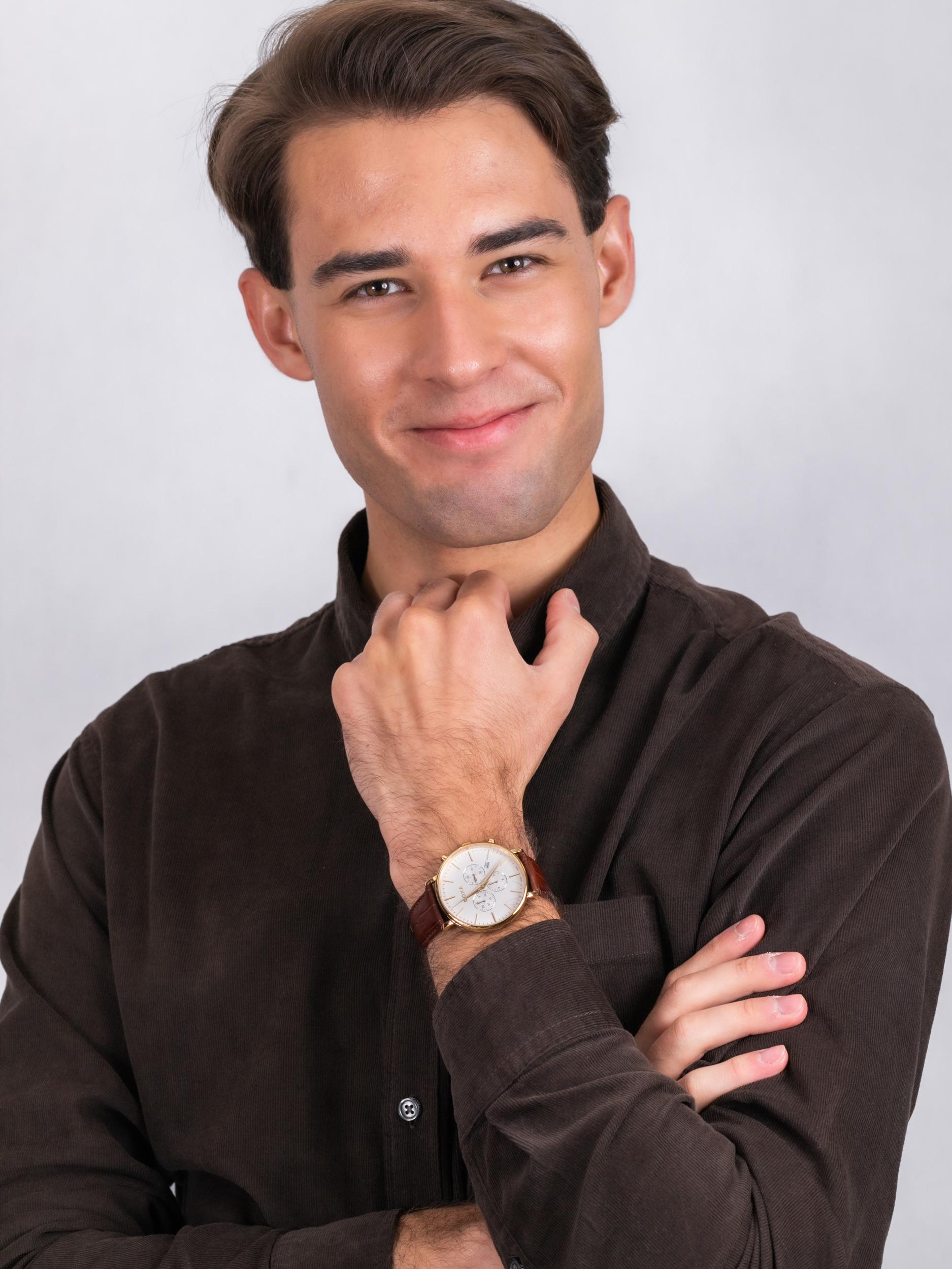Doxa 172.30.011.02 zegarek męski D-Light