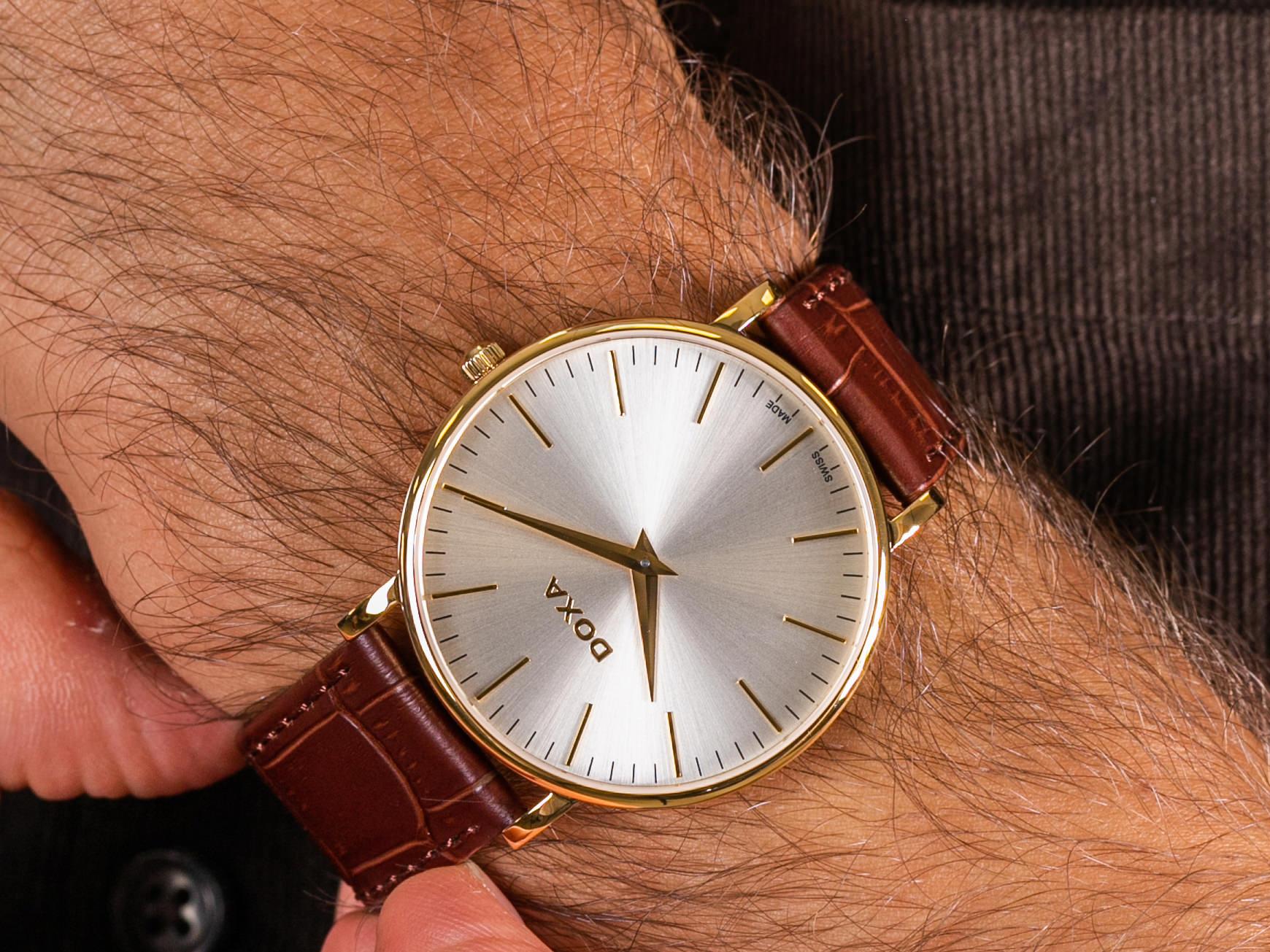 Doxa 173.30.021.02 zegarek klasyczny D-Light
