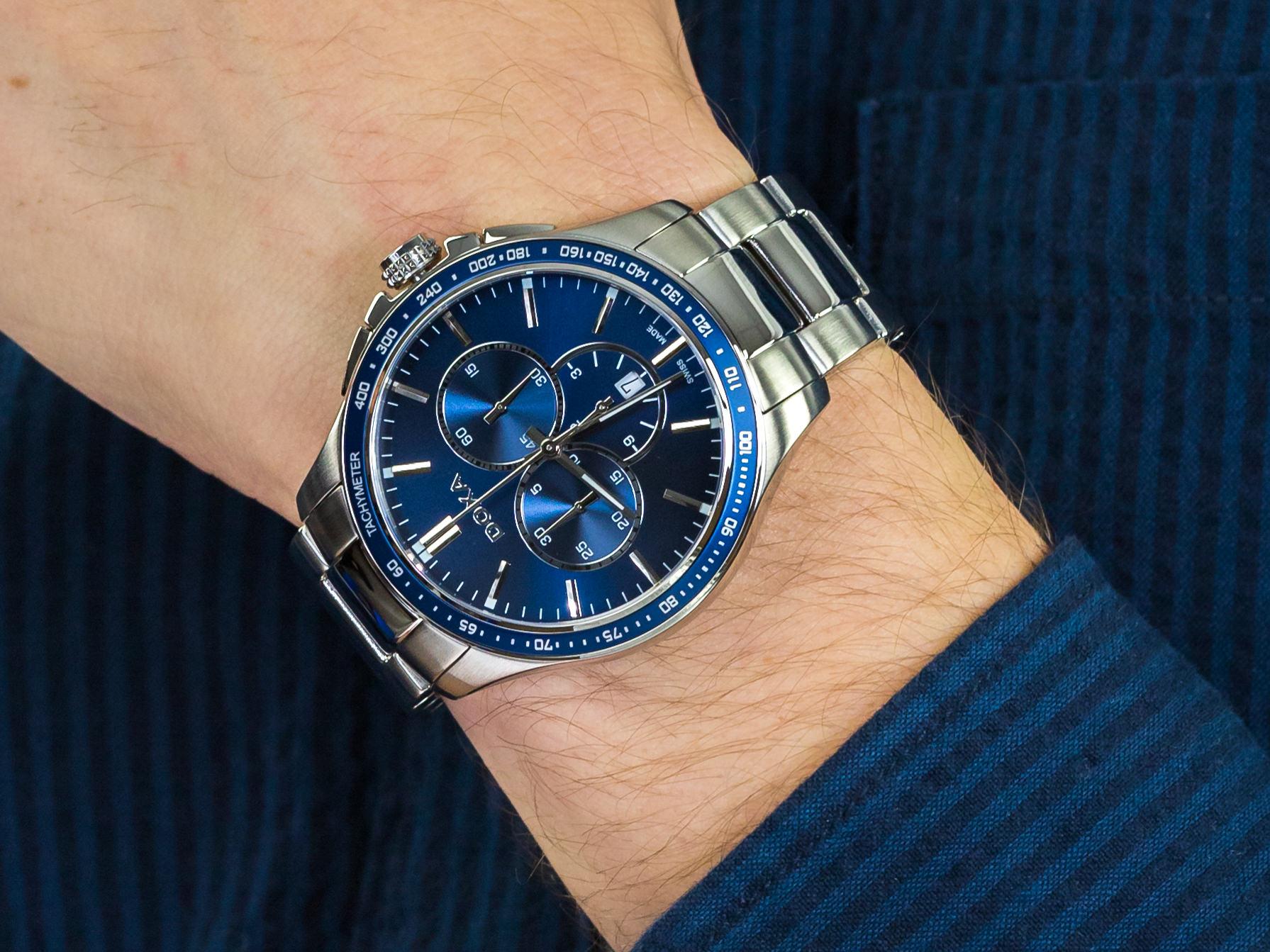 Doxa 287.10.201.10 zegarek klasyczny Trofeo