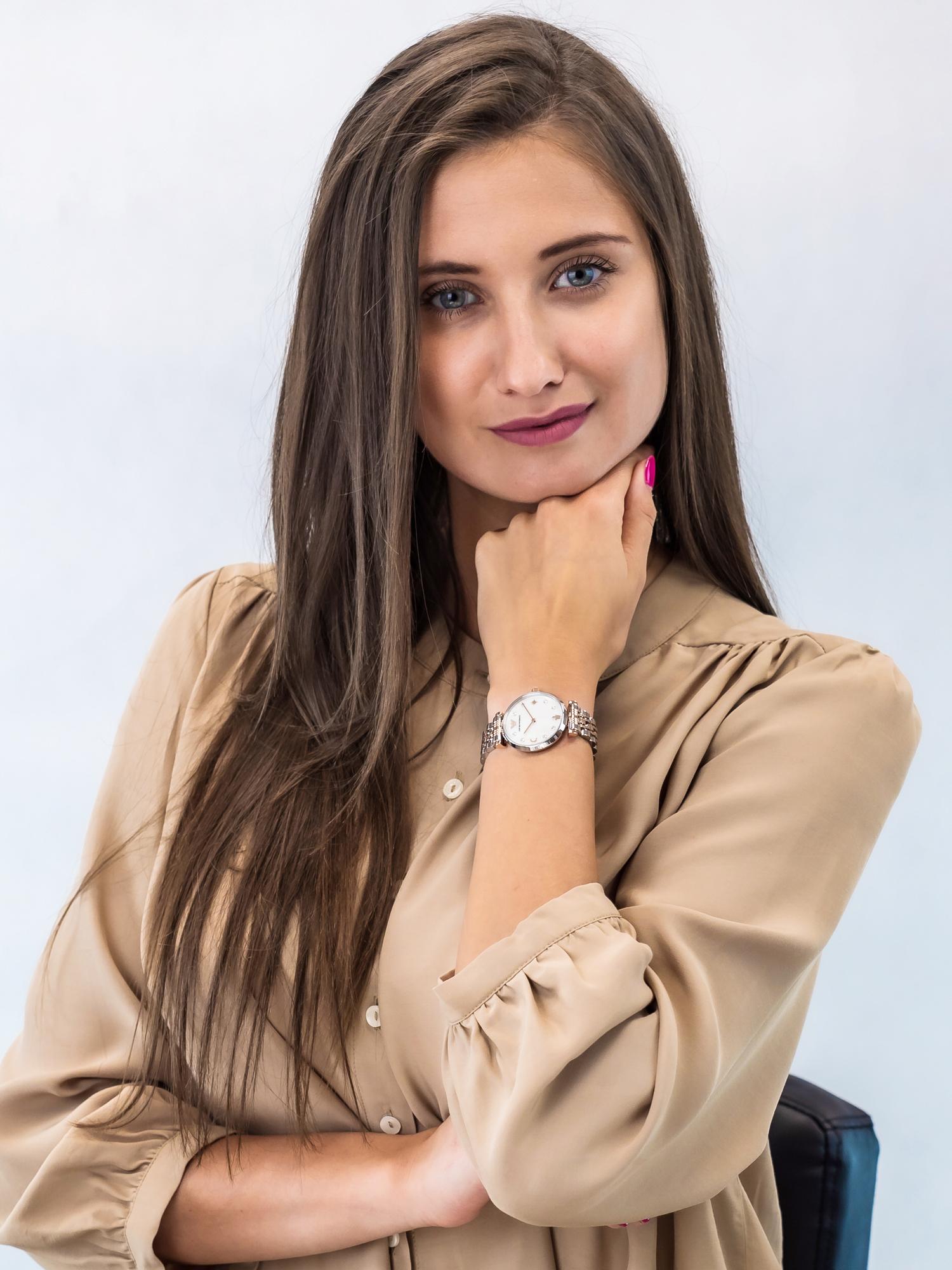 Emporio Armani AR80037 zegarek damski Ladies