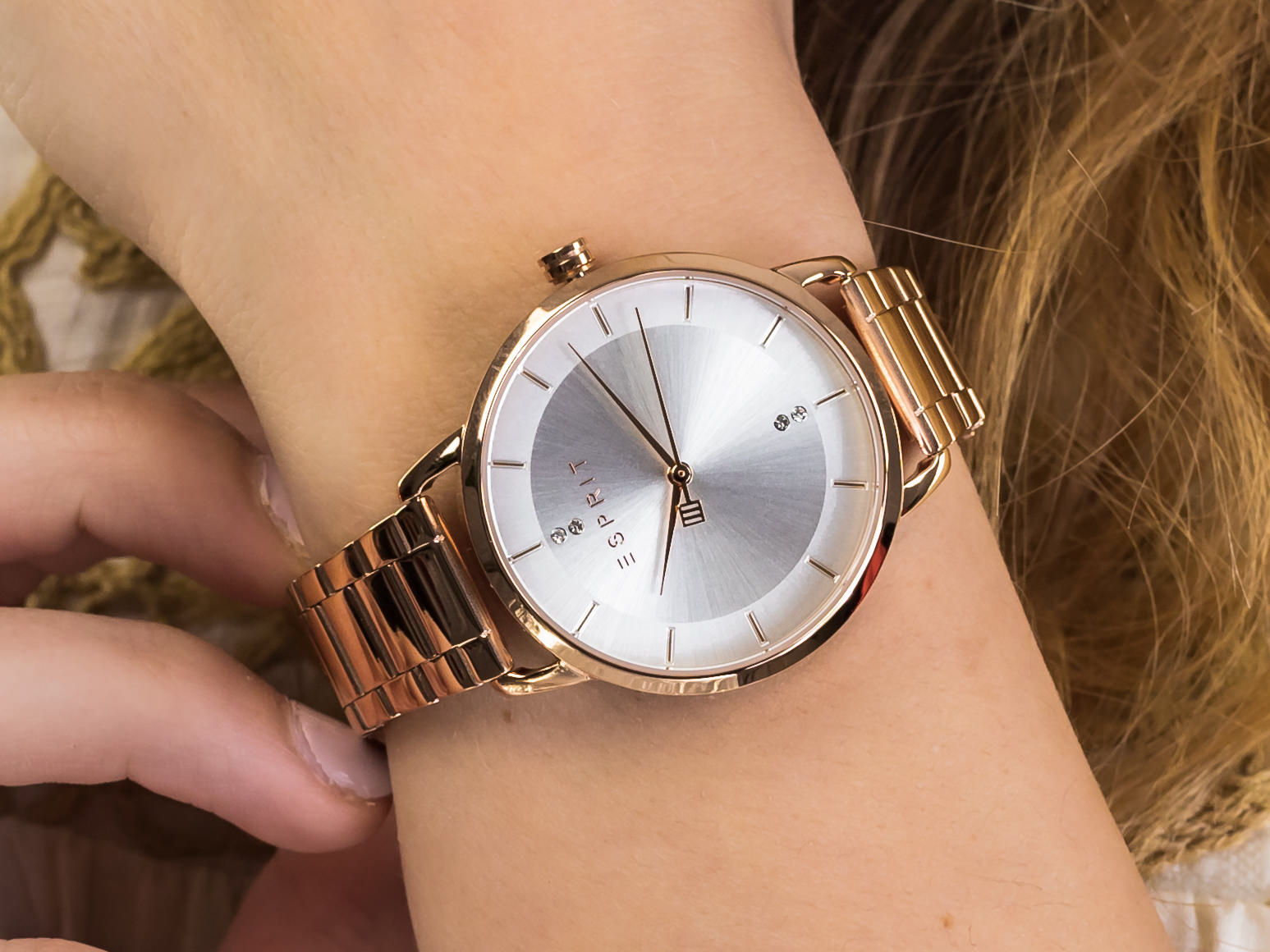 Esprit ES1L215M0095 zegarek klasyczny Damskie