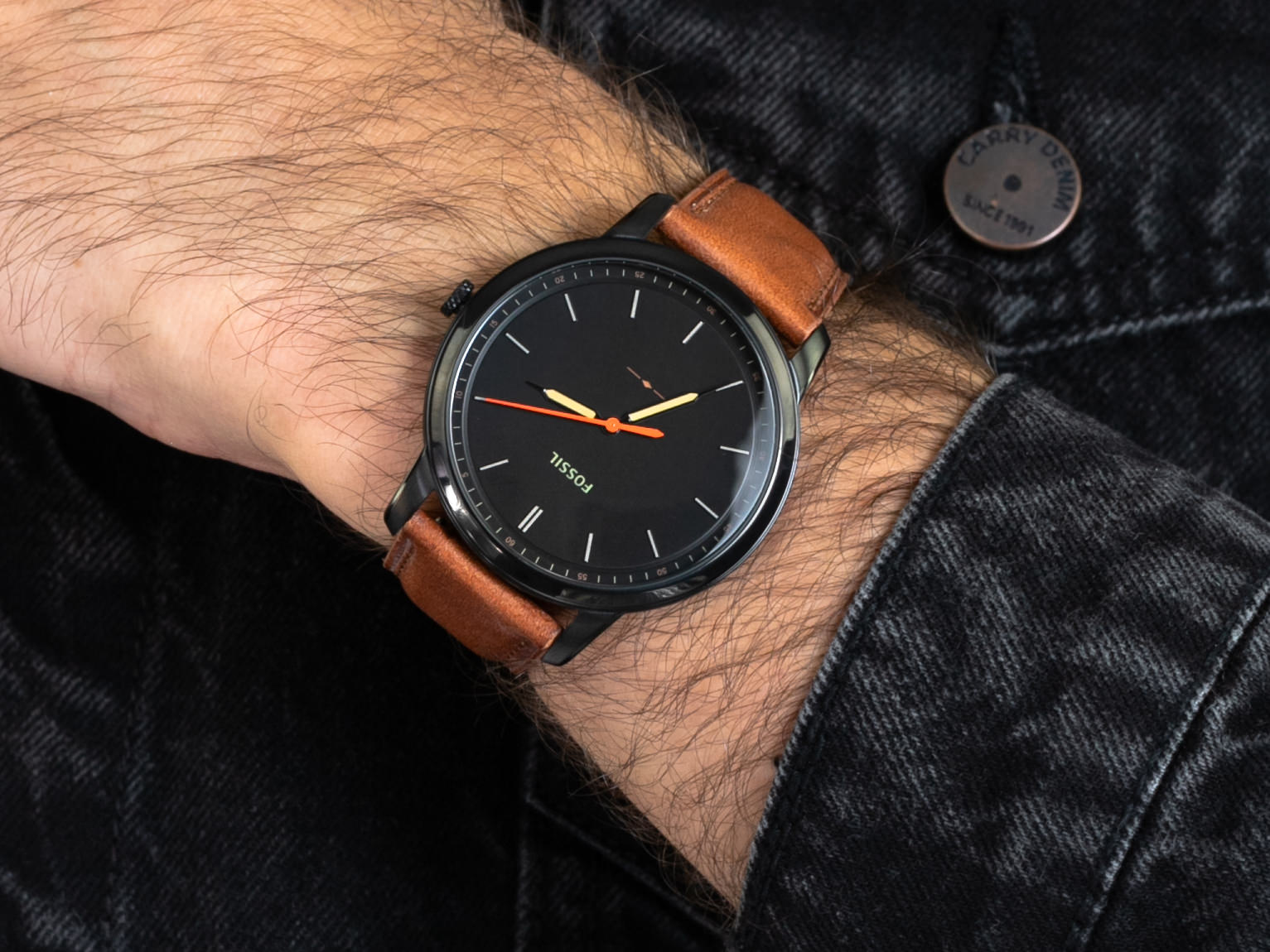 Fossil FS5305 THE MINIMALIST 3H zegarek klasyczny The Minimalist