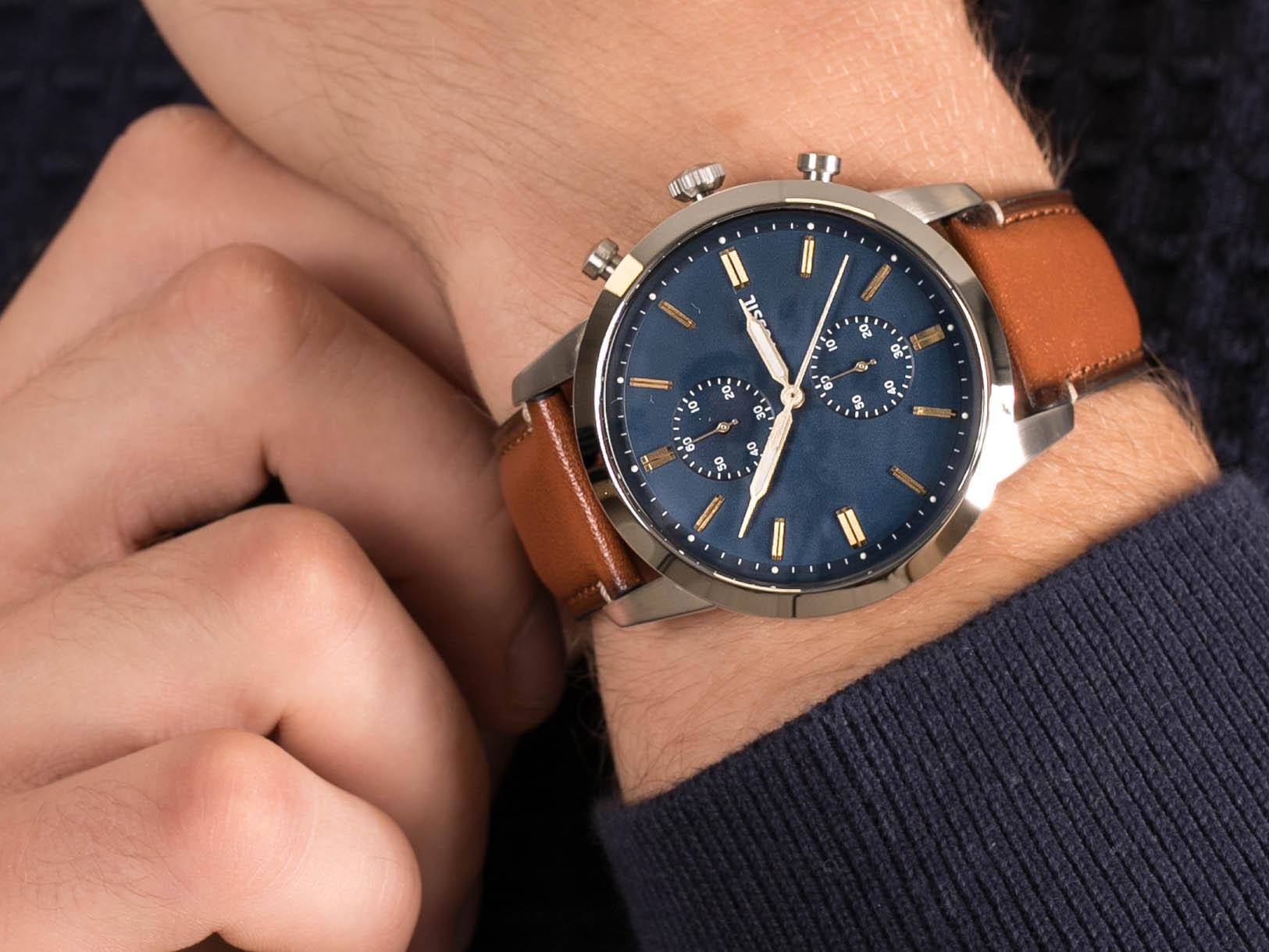 Fossil FS5279 44MM TOWNSMAN zegarek klasyczny Townsman