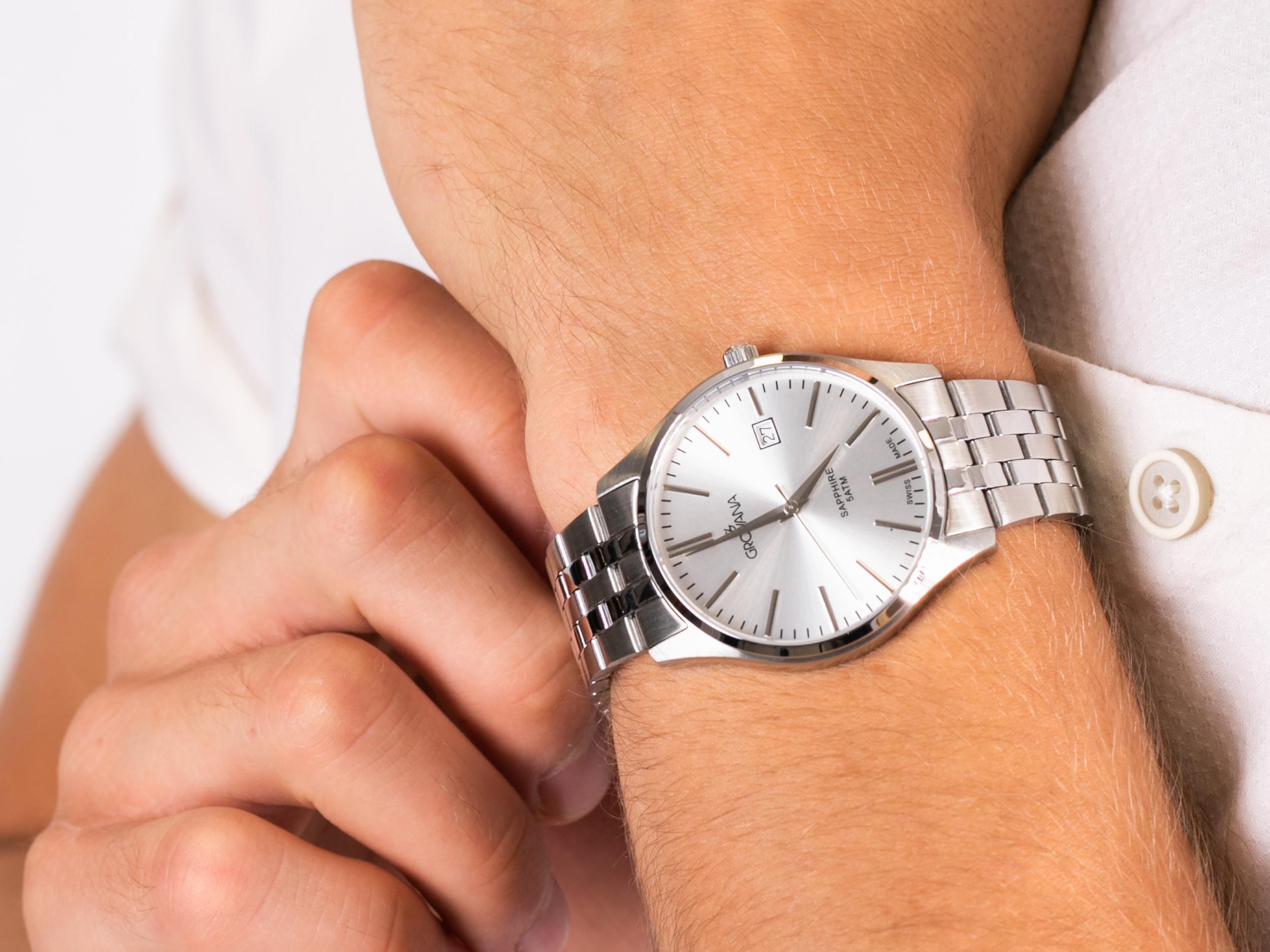 Grovana 1568.1132 zegarek klasyczny Bransoleta
