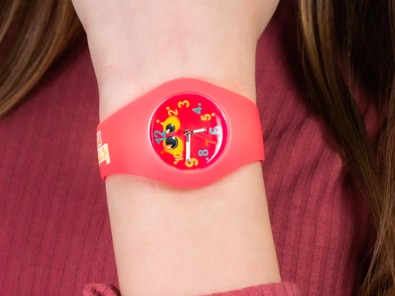 Knock Nocky FL DIBI Fluffy zegarek klasyczny Fluffy