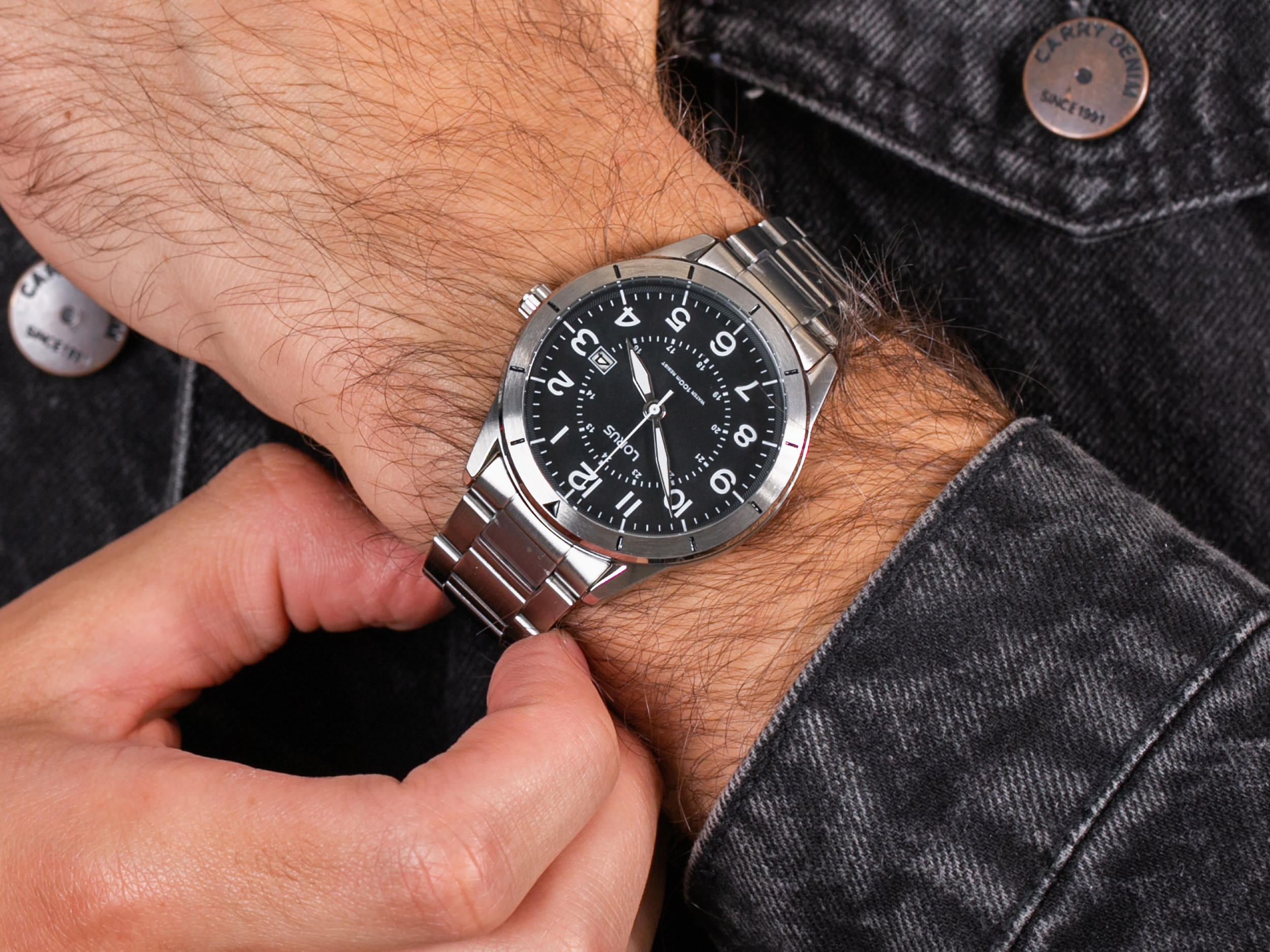 Lorus RH931LX9 zegarek klasyczny Klasyczne