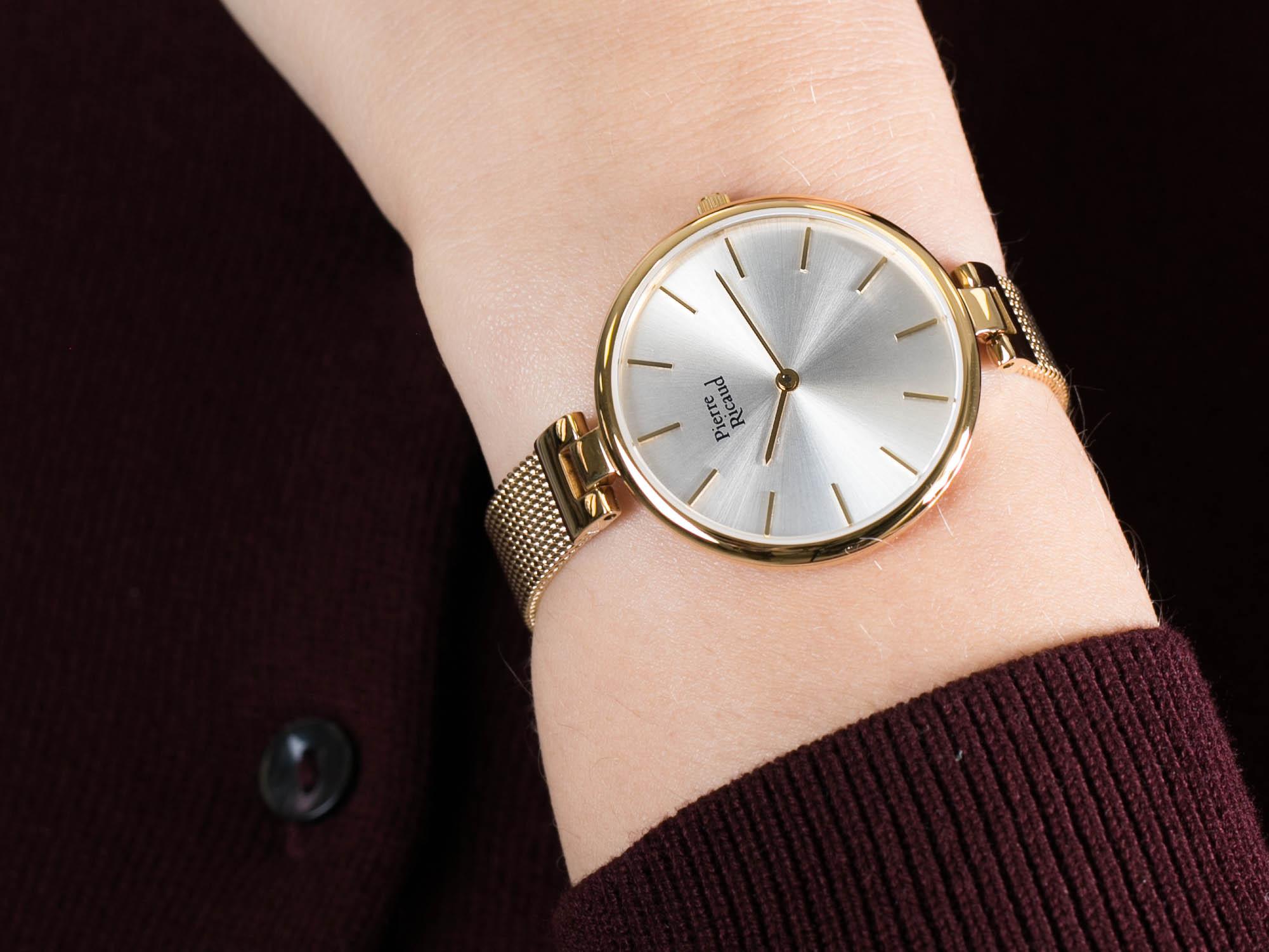 Pierre Ricaud P22061.1113Q zegarek klasyczny Bransoleta