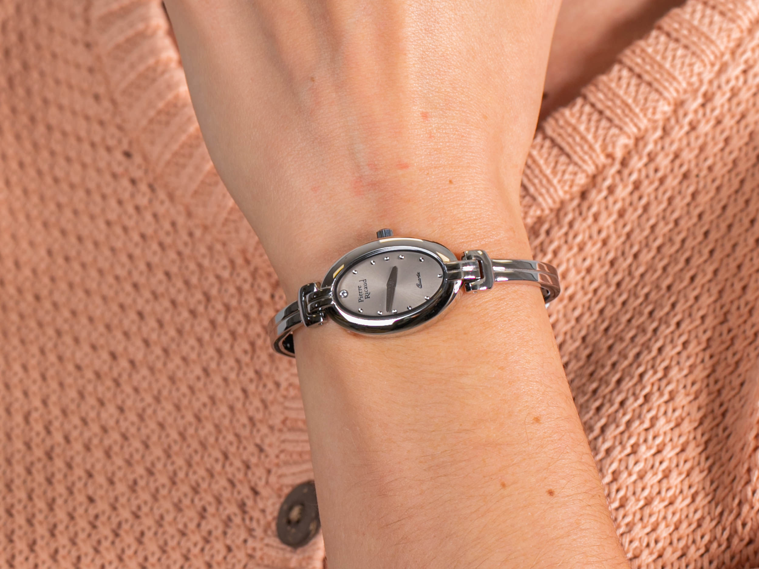 Pierre Ricaud P4096.5147Q zegarek klasyczny Bransoleta