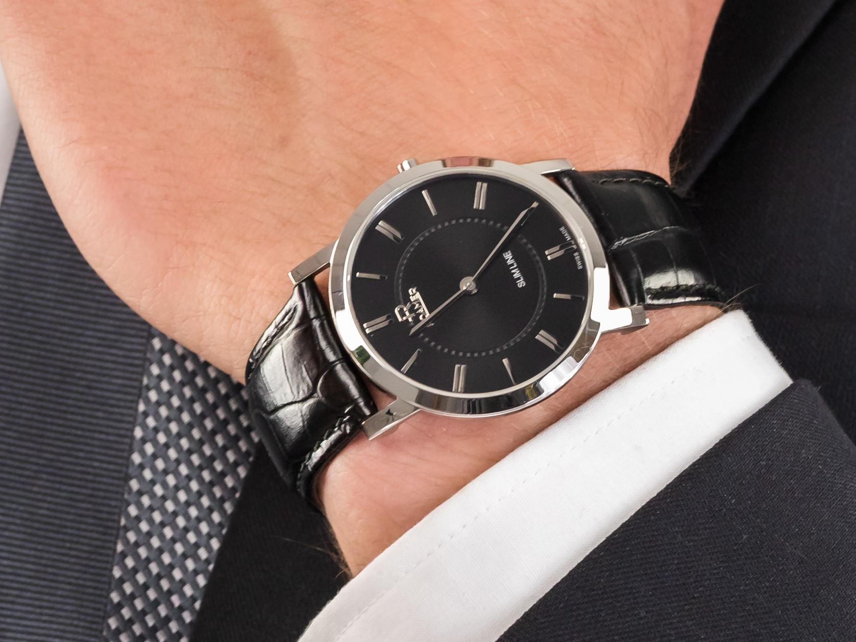 Roamer 937830.41.55.09 zegarek klasyczny Slim-Line