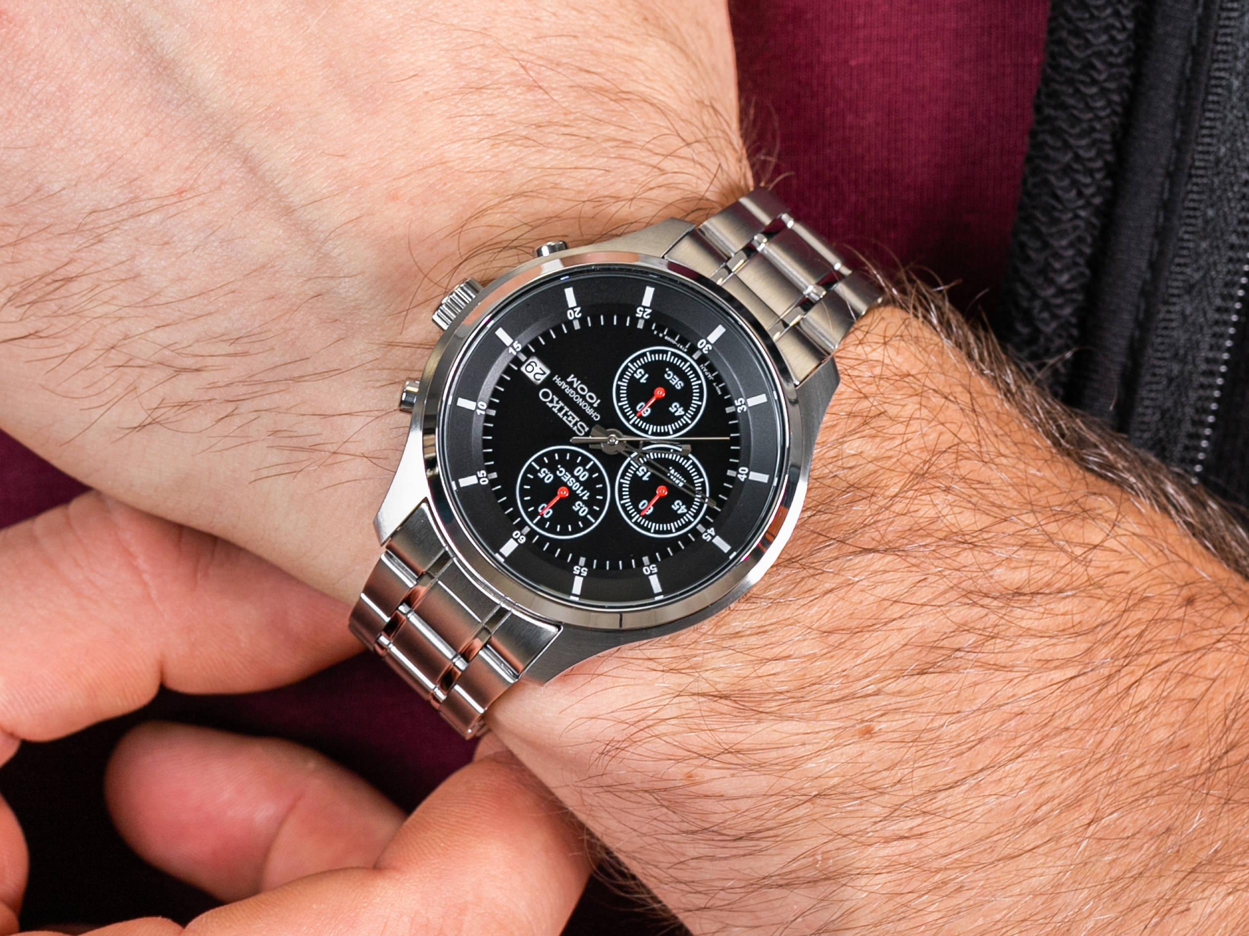 Seiko SKS539P1 zegarek klasyczny Chronograph