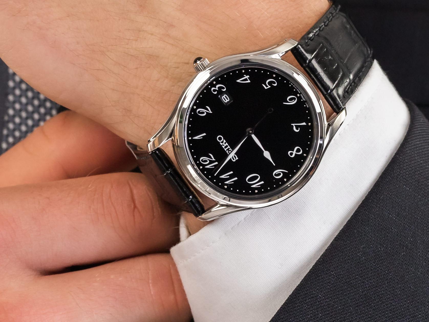 Seiko SUR305P1 zegarek klasyczny Classic