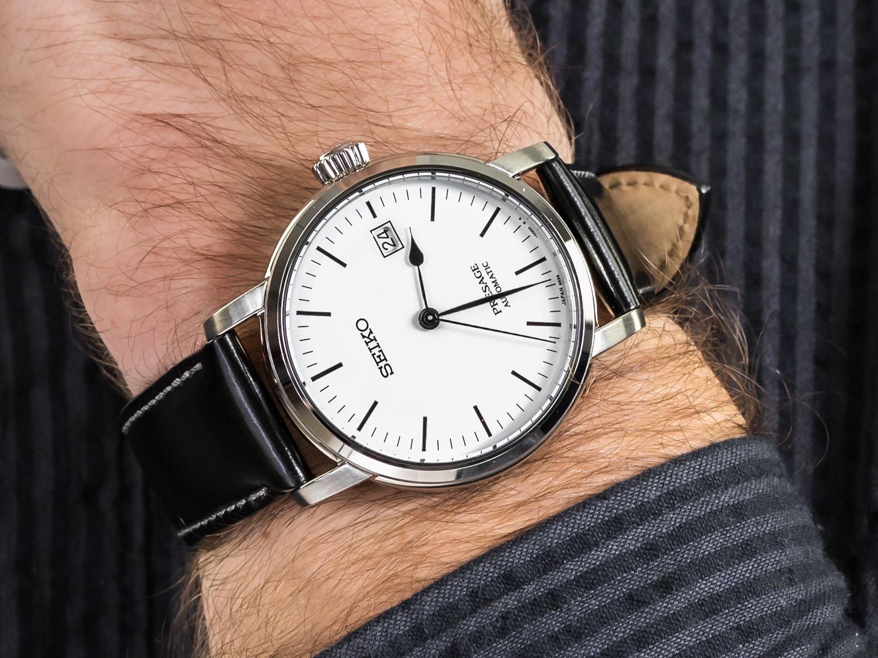 Seiko SPB113J1 zegarek klasyczny Presage