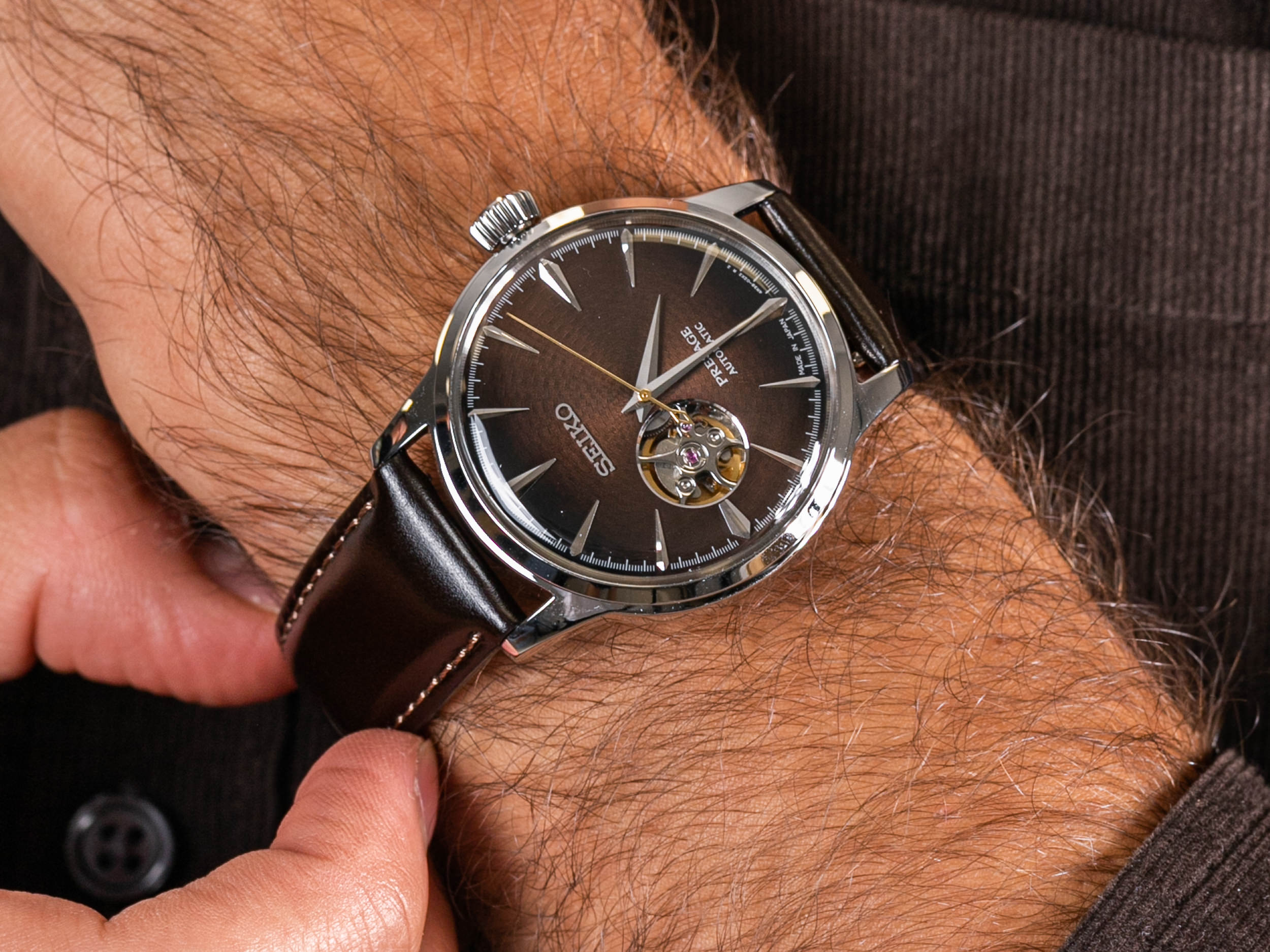 Seiko SSA407J1 zegarek klasyczny Presage