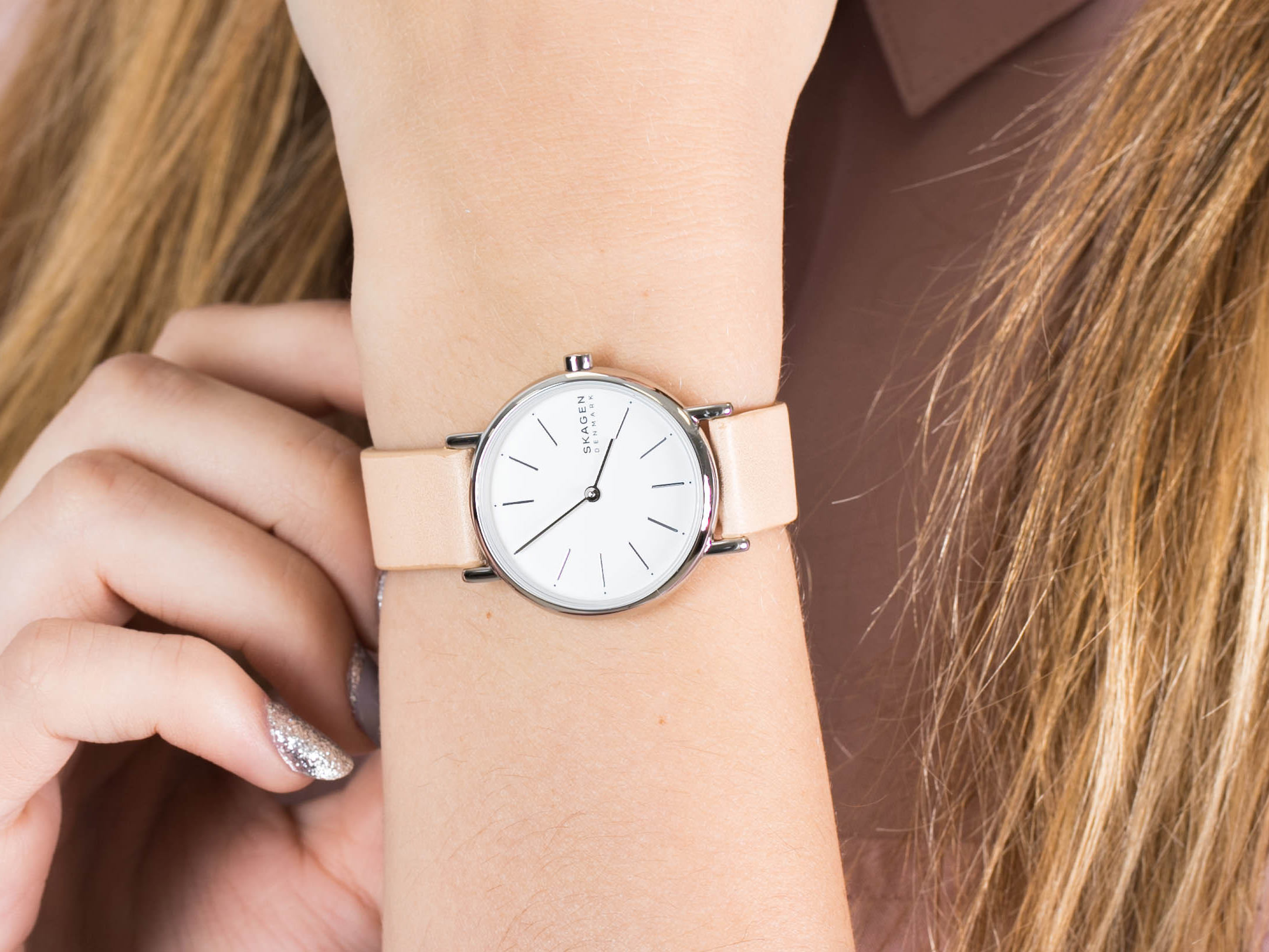 Skagen SKW2839 Signatur zegarek klasyczny Signatur