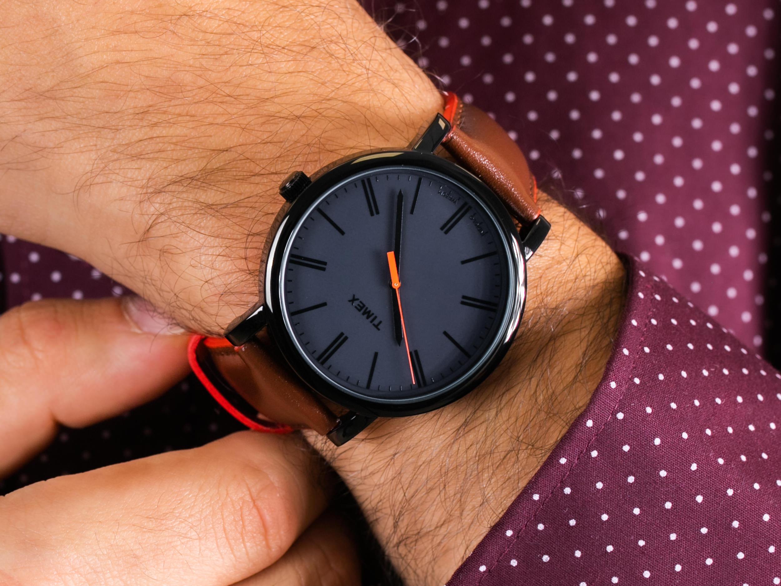 Timex T2N794BXL Originals Oversized zegarek klasyczny Originals