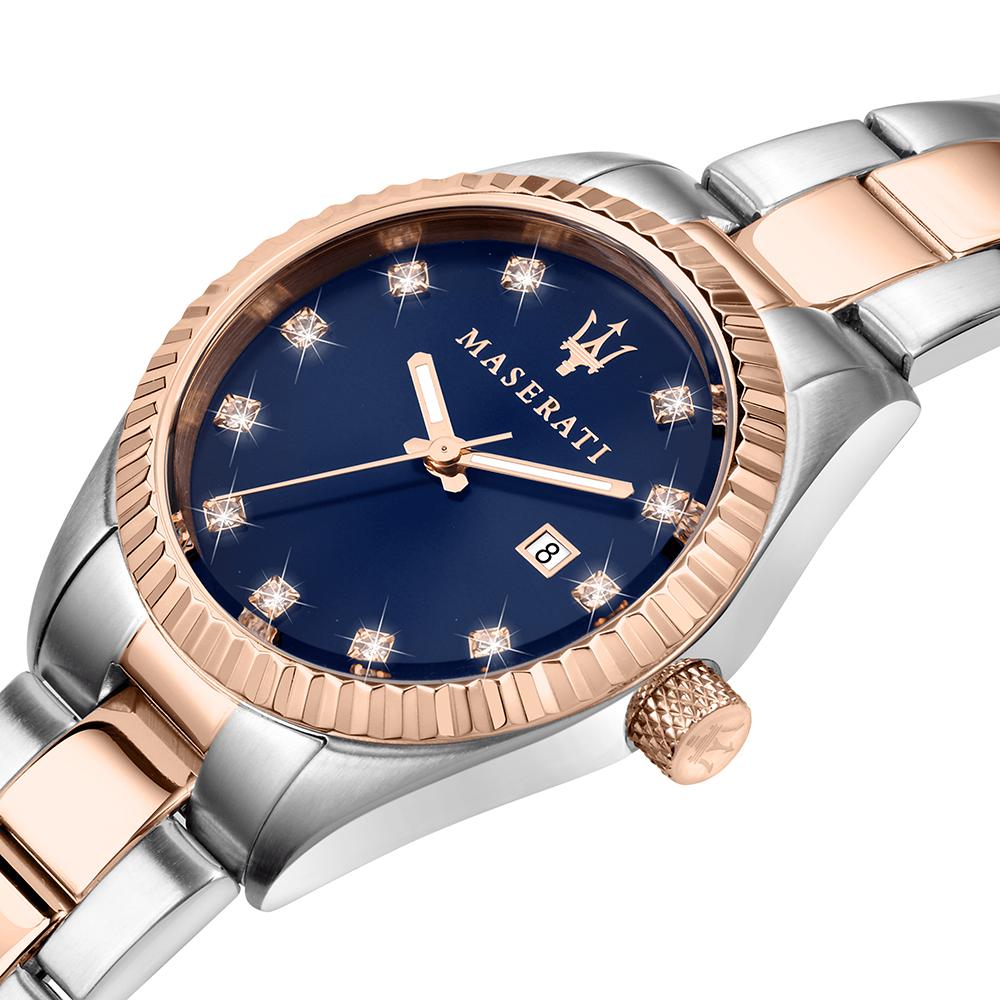 zegarek Maserati R8853100507 srebrny Competizione