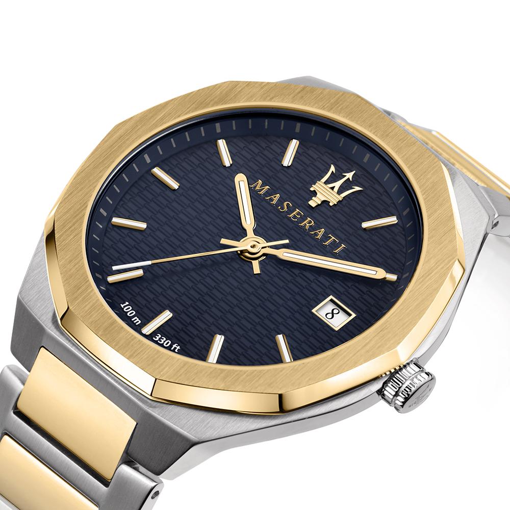zegarek Maserati R8853142008 złoty Stile