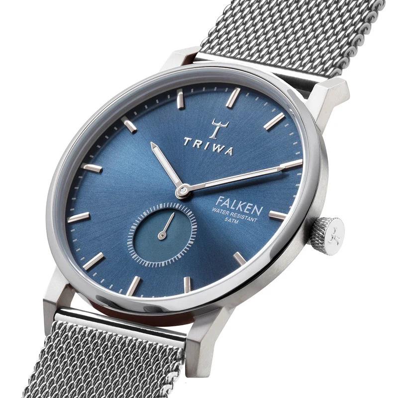 Triwa FAST121-ME021212 męski zegarek Falken bransoleta