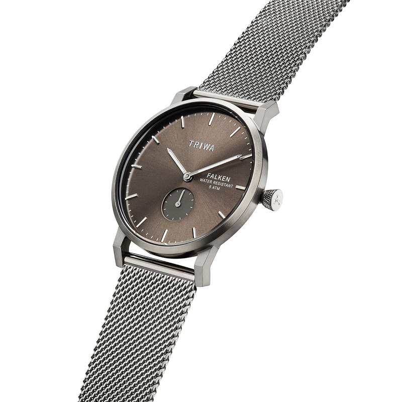 Triwa FAST125-ME023412 męski zegarek Falken bransoleta