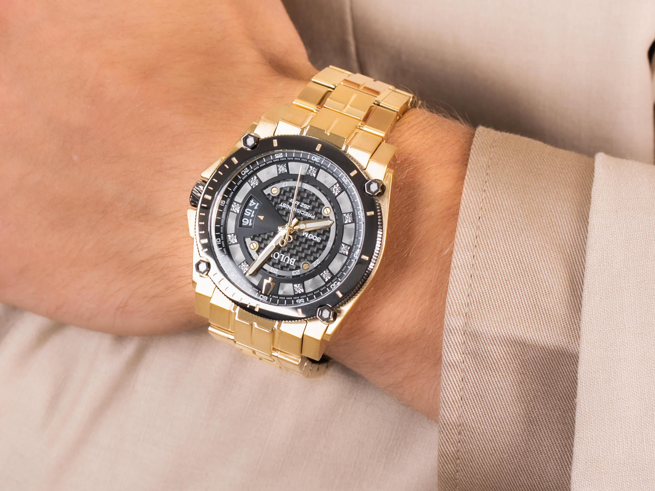 Bulova 98D156 zegarek elegancki Precisionist