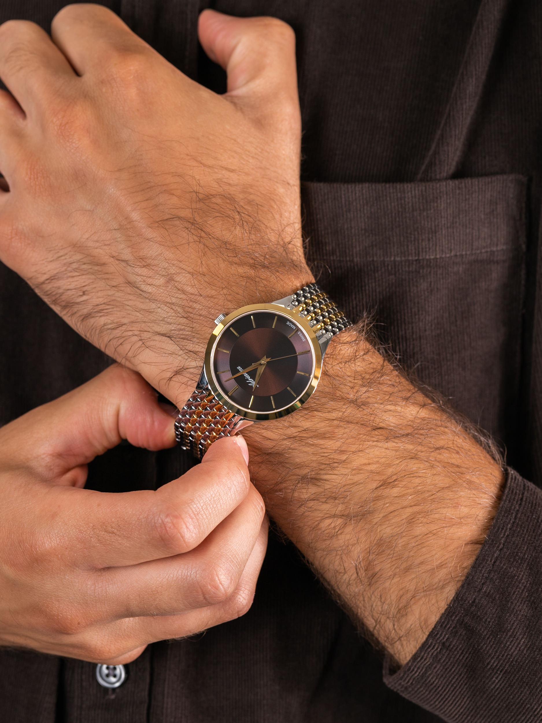 Adriatica A1276.211GQ męski zegarek Bransoleta bransoleta