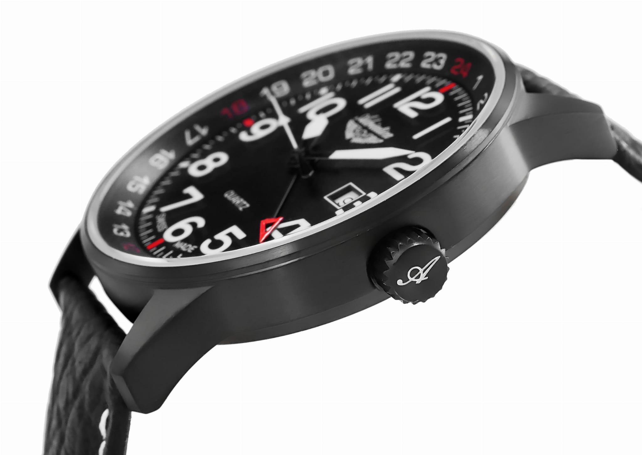 Adriatica A1067.B224Q Aviation zegarek klasyczny Pasek