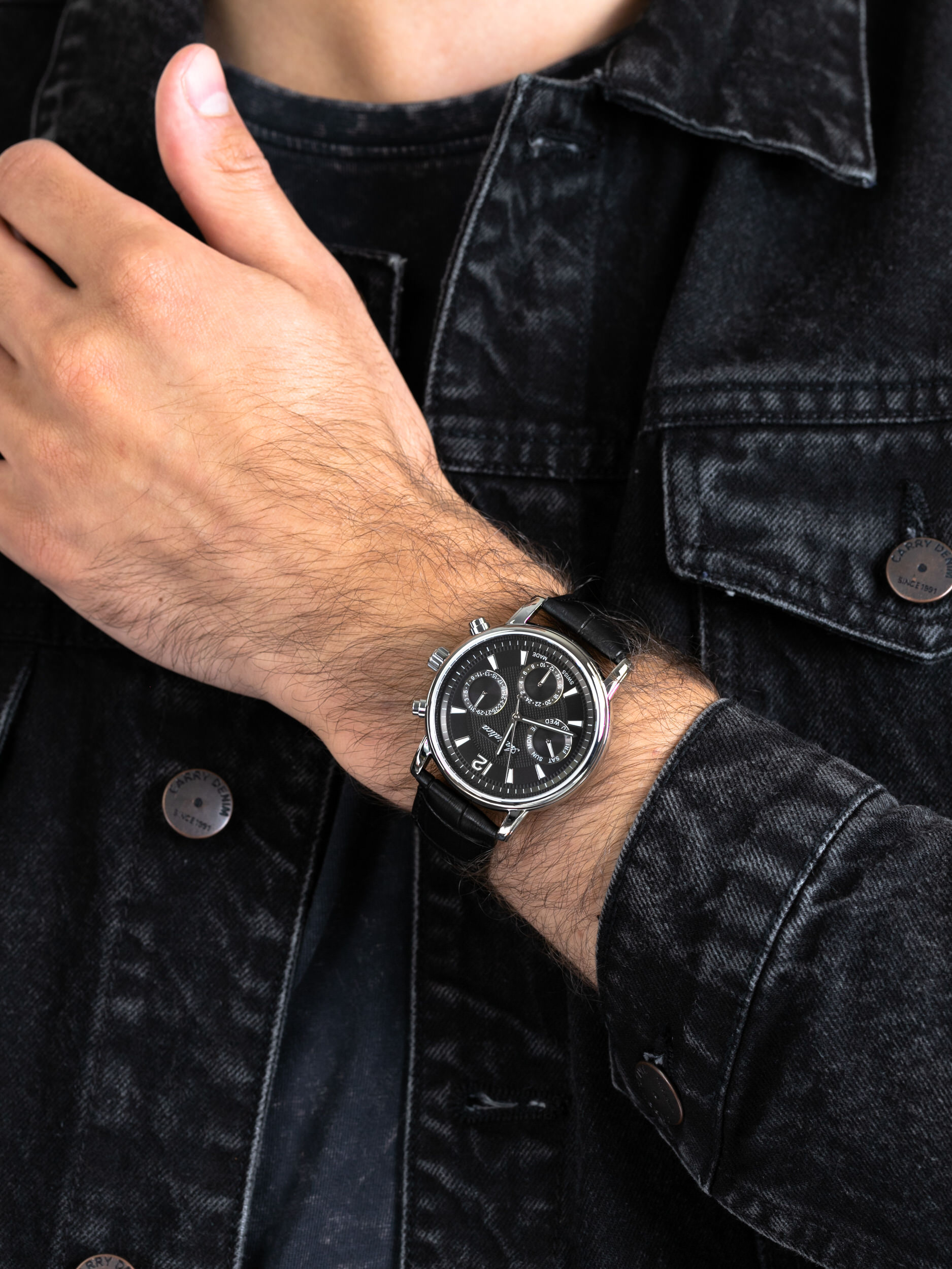 Adriatica A8275.5254QF męski zegarek Pasek pasek