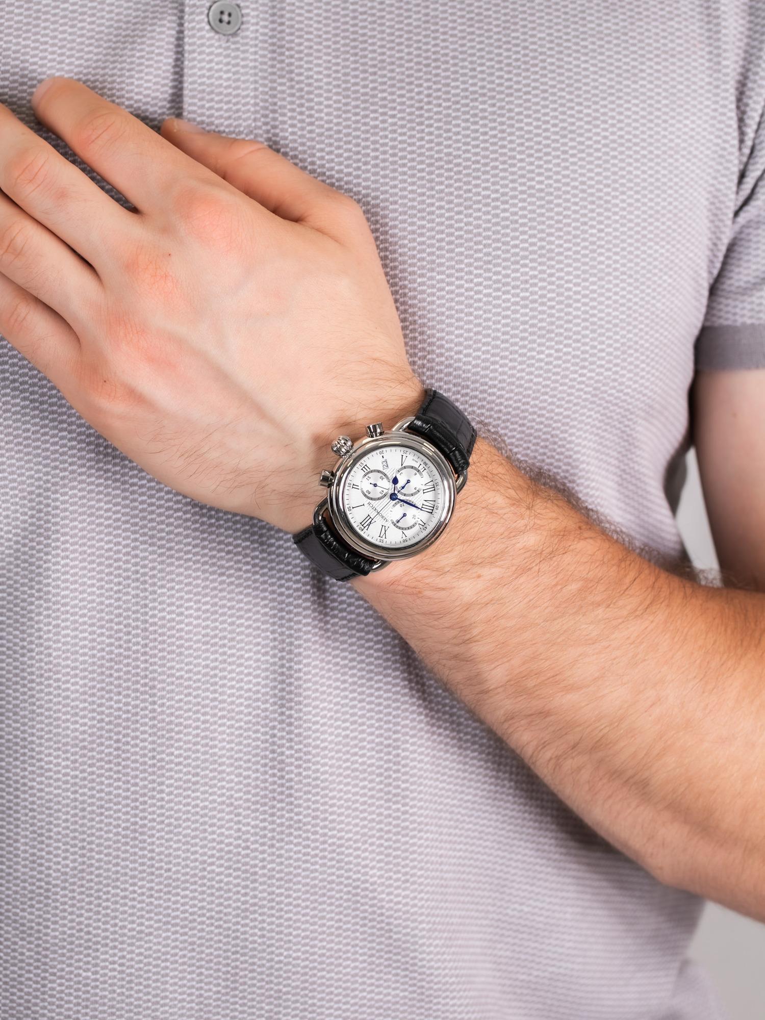zegarek Aerowatch 84934-AA08 1942 CHRONO męski z chronograf 1942