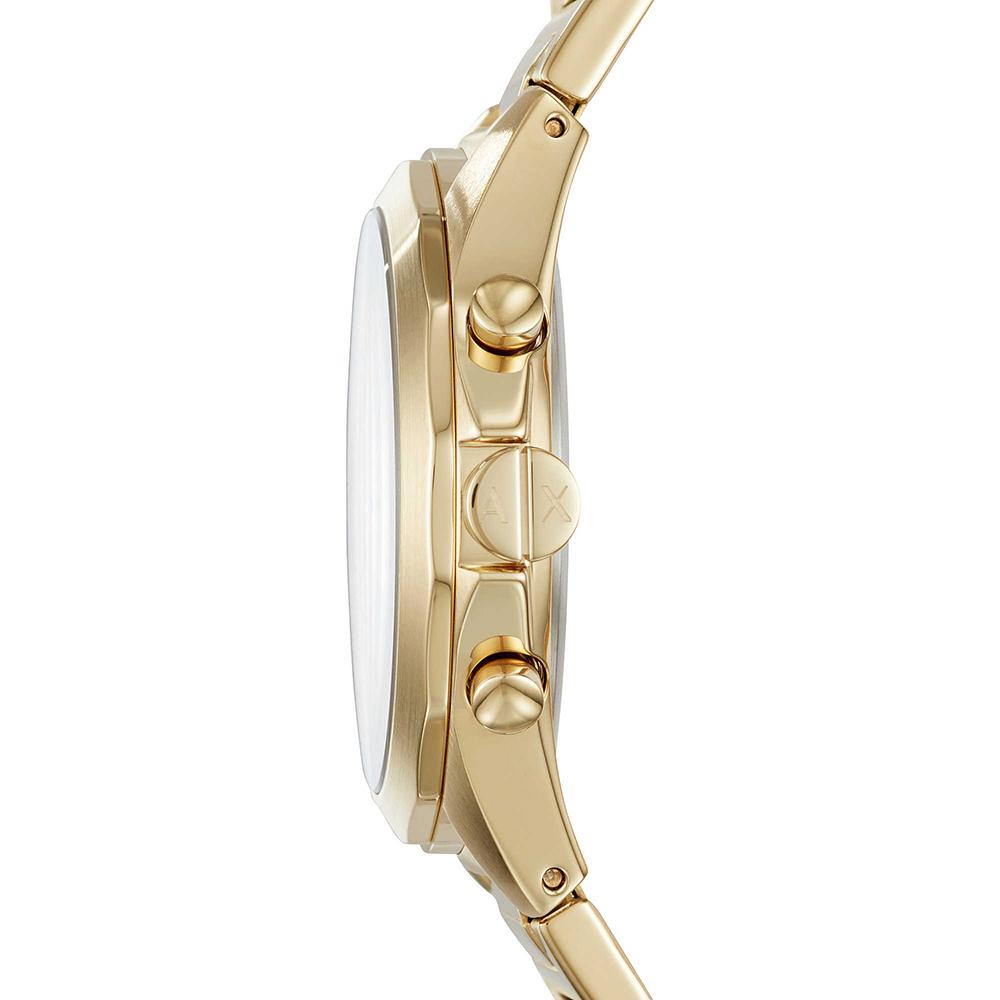 Armani Exchange AX2602 zegarek złoty fashion/modowy Fashion bransoleta