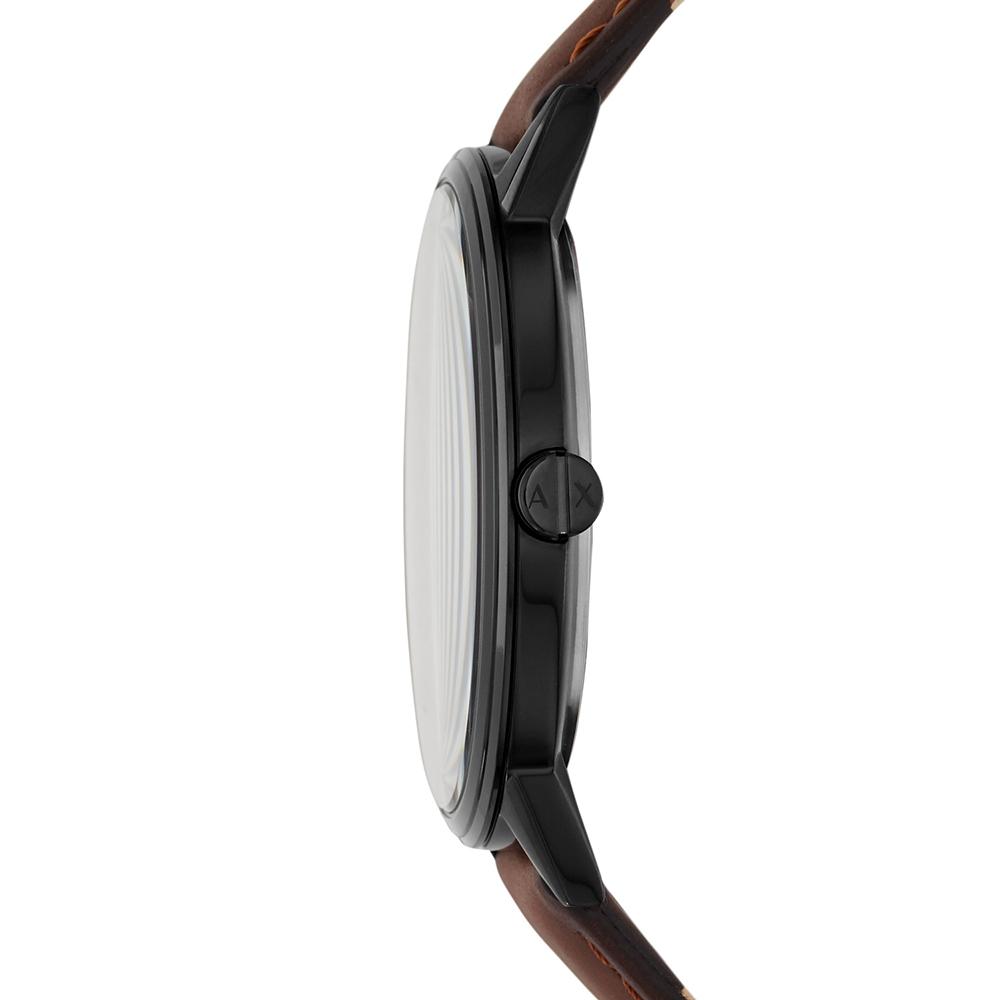 Armani Exchange AX2706 zegarek czarny klasyczny Fashion pasek