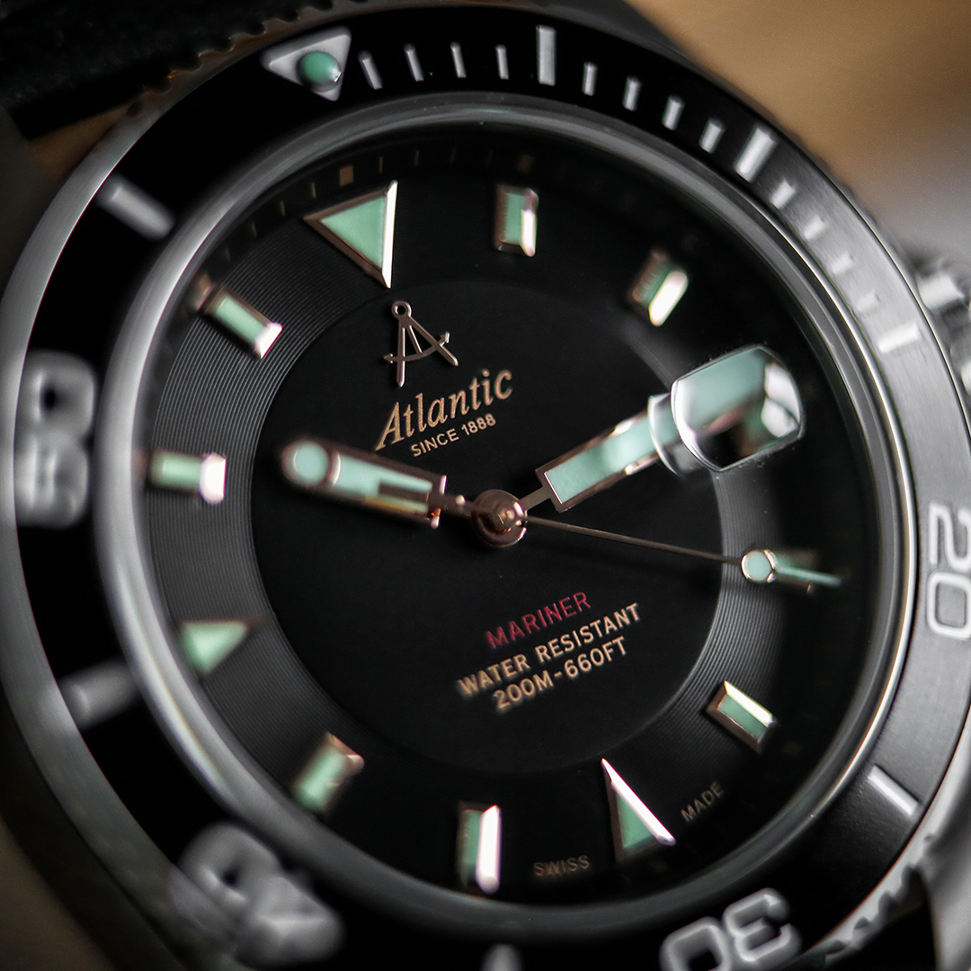 Atlantic 80372.41.61R męski zegarek Mariner pasek