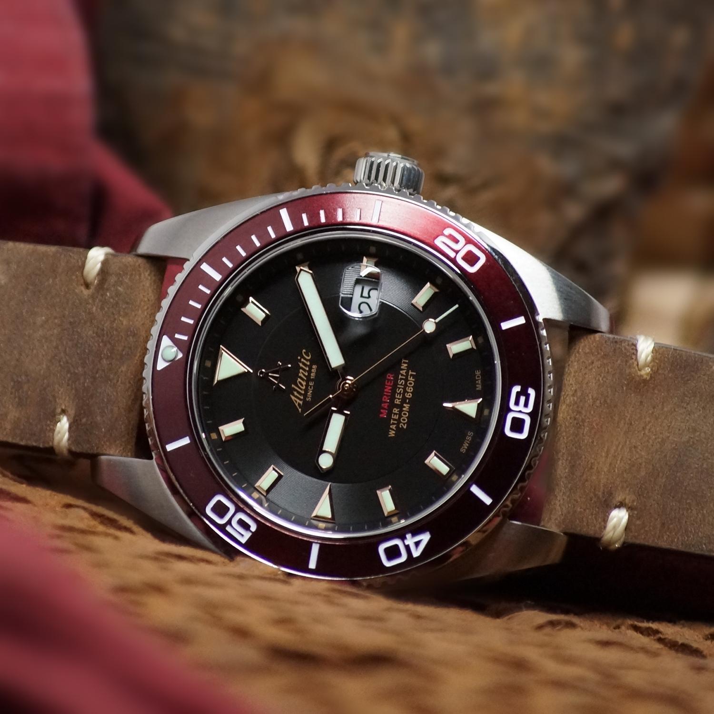 zegarek Atlantic 80373.41.61R kwarcowy męski Mariner