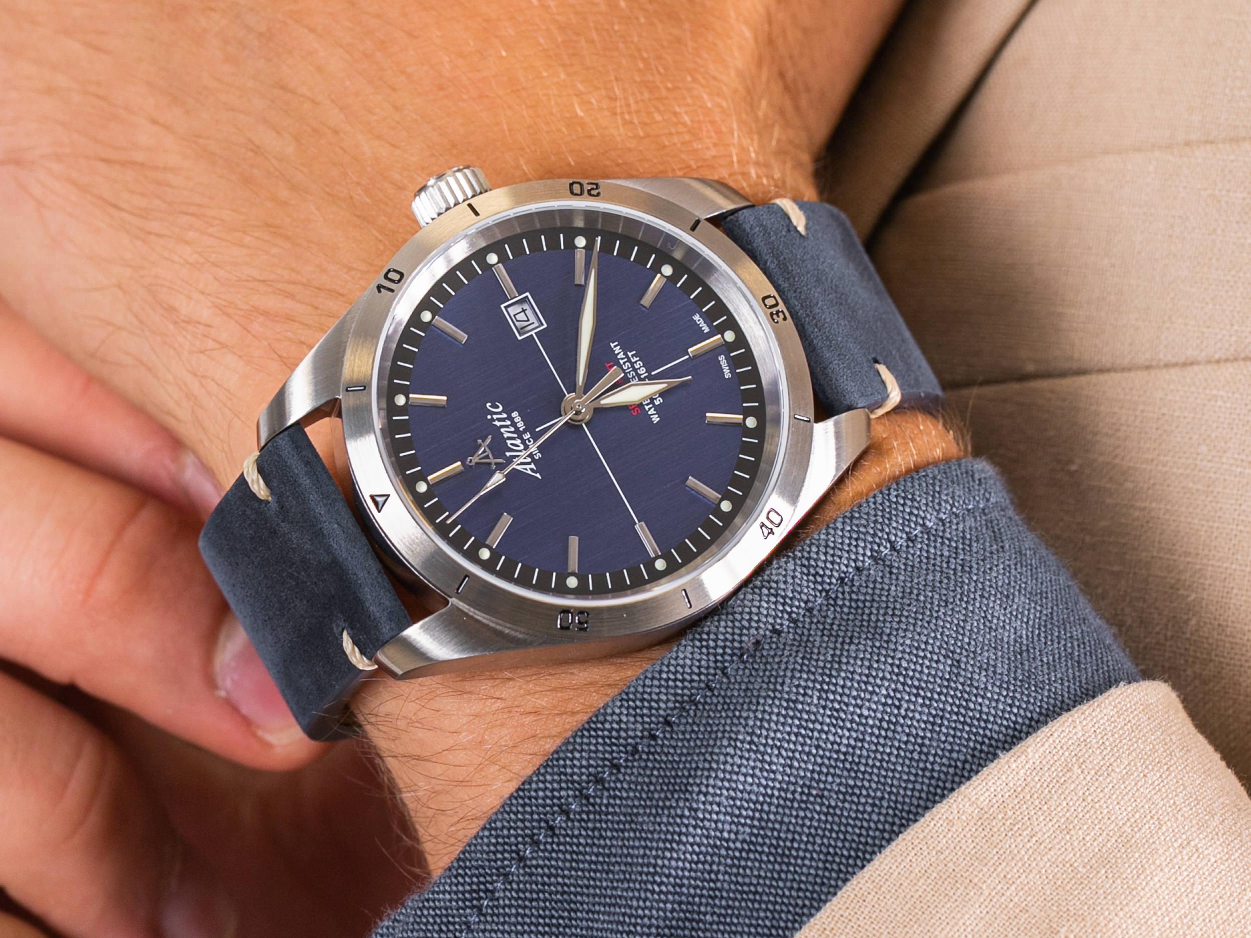 Atlantic 70351.41.51 zegarek klasyczny Seaflight
