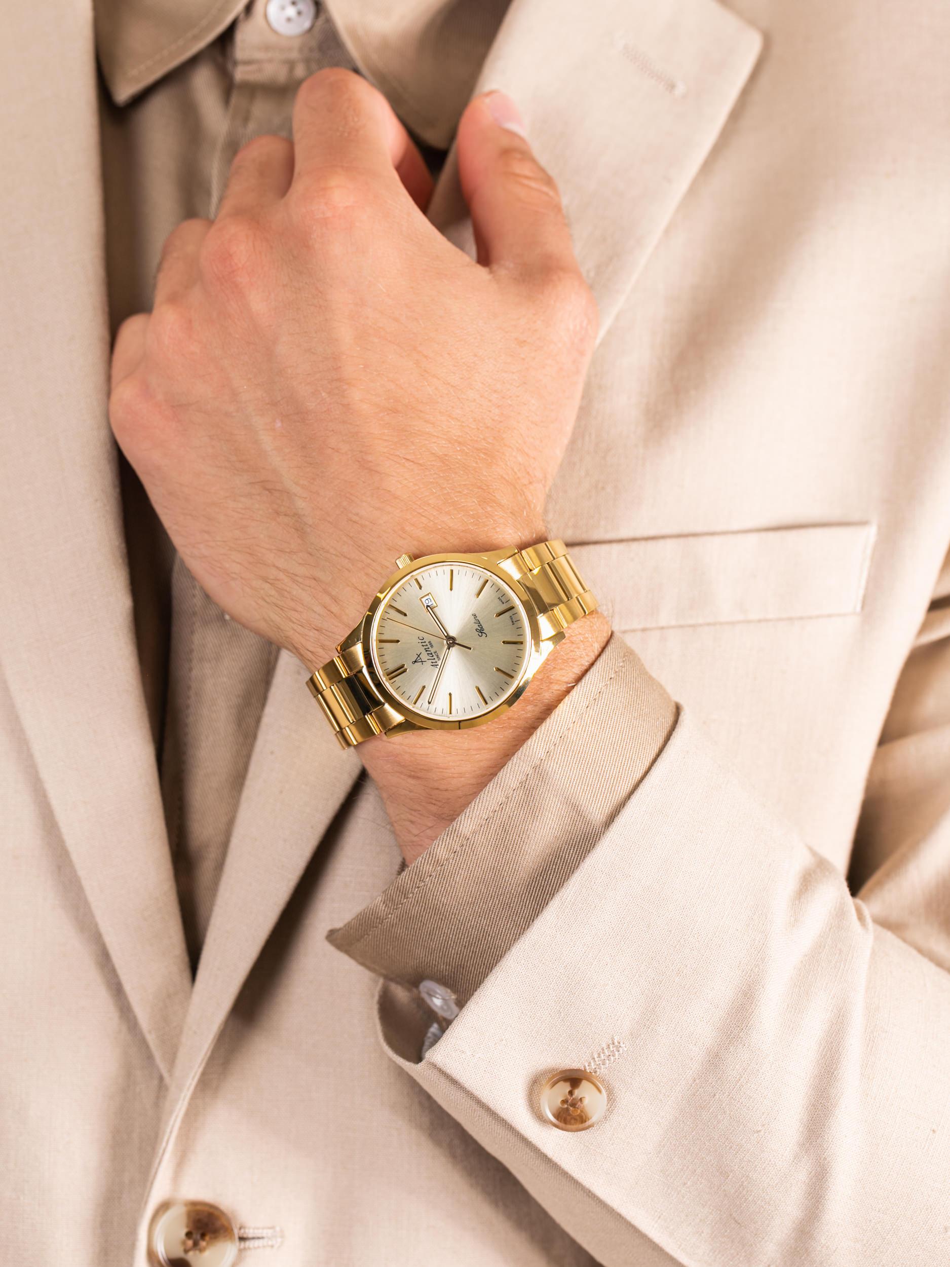 Atlantic 62346.45.31 męski zegarek Sealine bransoleta