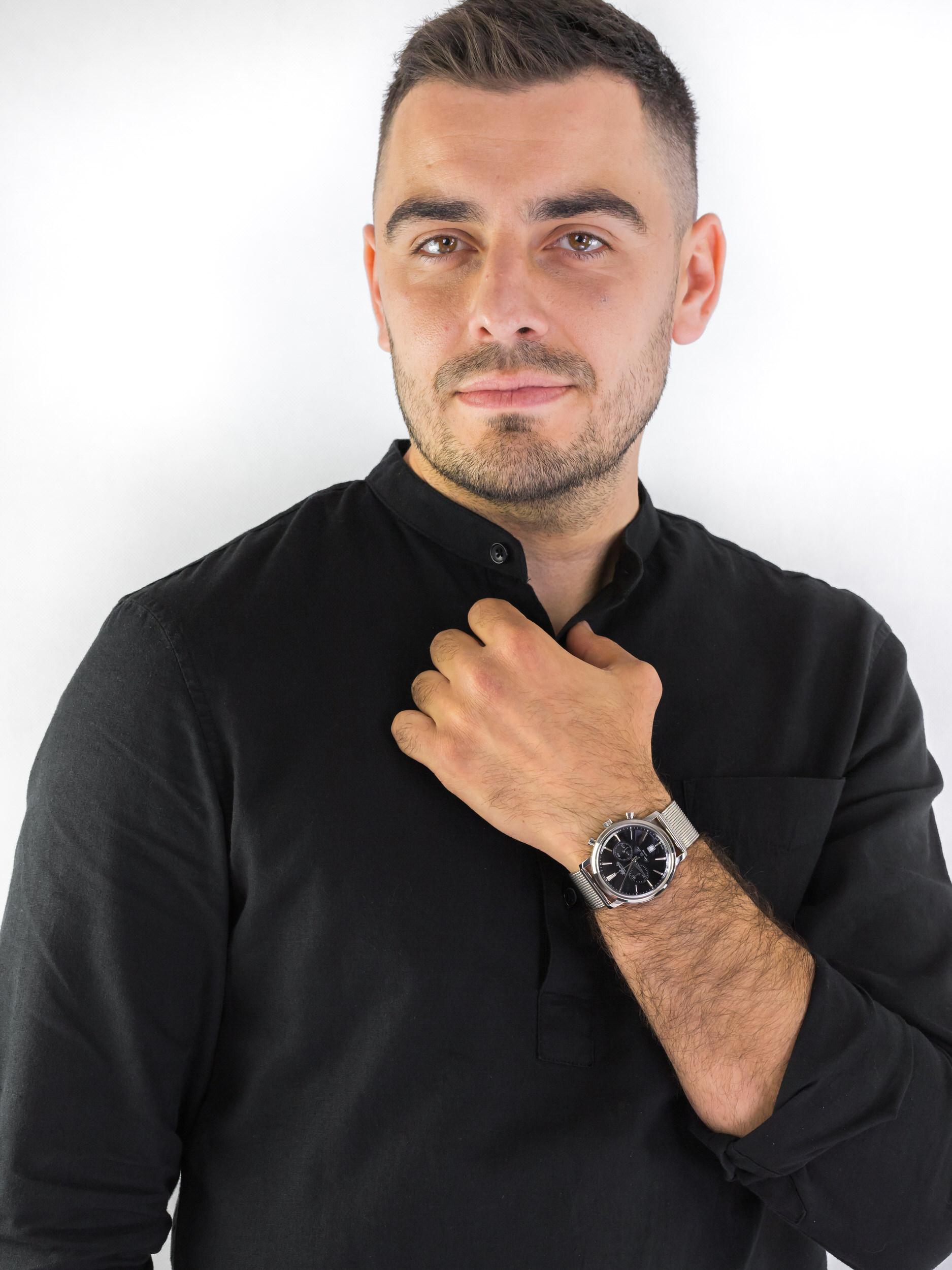 Atlantic 64456.41.61 zegarek męski Super De Luxe