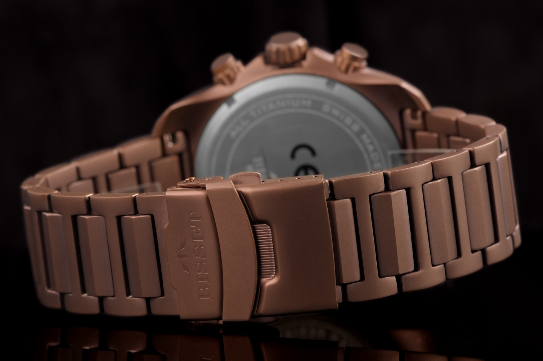 zegarek Bisset BSDF16VISY10BX męski z chronograf Sportowe