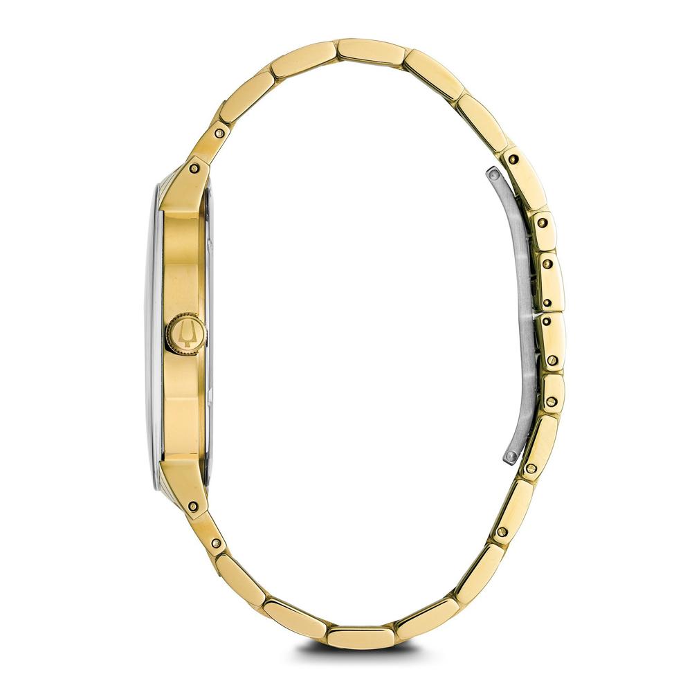 Bulova 97D115 zegarek złoty klasyczny Futuro bransoleta
