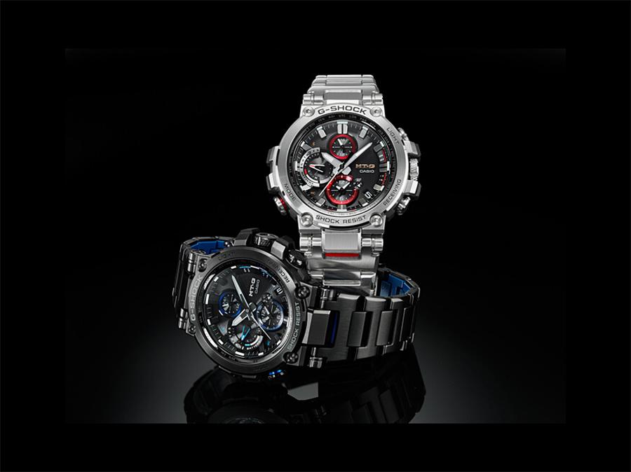 smartwatch G-Shock MTG-B1000BD-1AER czarny G-SHOCK Exclusive