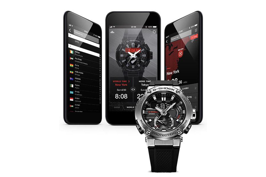 G-Shock GST-B200-1AER G-SHOCK G-STEEL zegarek męski sportowy mineralne