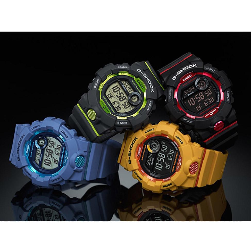 G-Shock GBD-800-1ER G-SHOCK Original G-SQUAD zegarek męski sportowy mineralne
