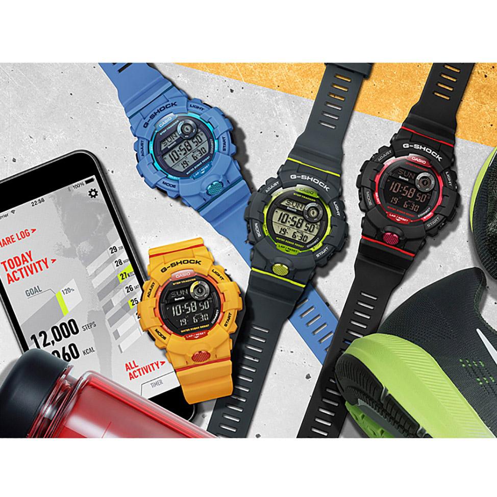 zegarek G-Shock GBD-800-1ER czarny G-SHOCK Original