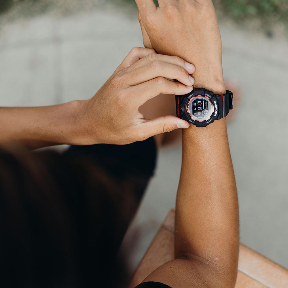 G-Shock GBD-800-1ER zegarek czarny sportowy G-SHOCK Original pasek