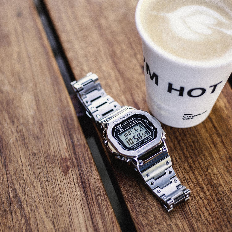 G-Shock GMW-B5000D-1ER G-SHOCK Specials FULL METAL CASE LIMITED zegarek męski sportowy mineralne