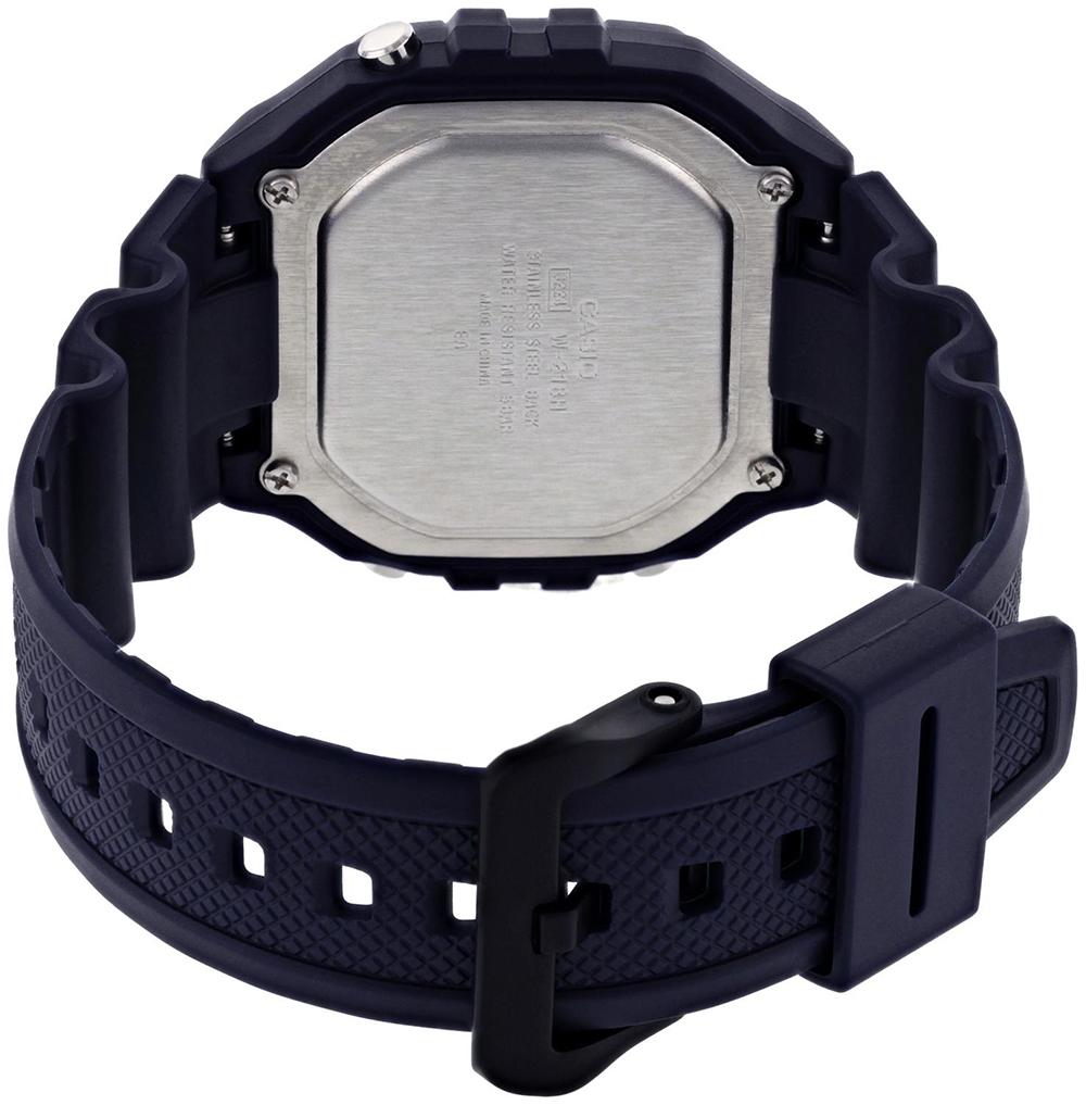 zegarek Casio W-218H-2AVEF kwarcowy męski Sportowe HEAVY DUTY