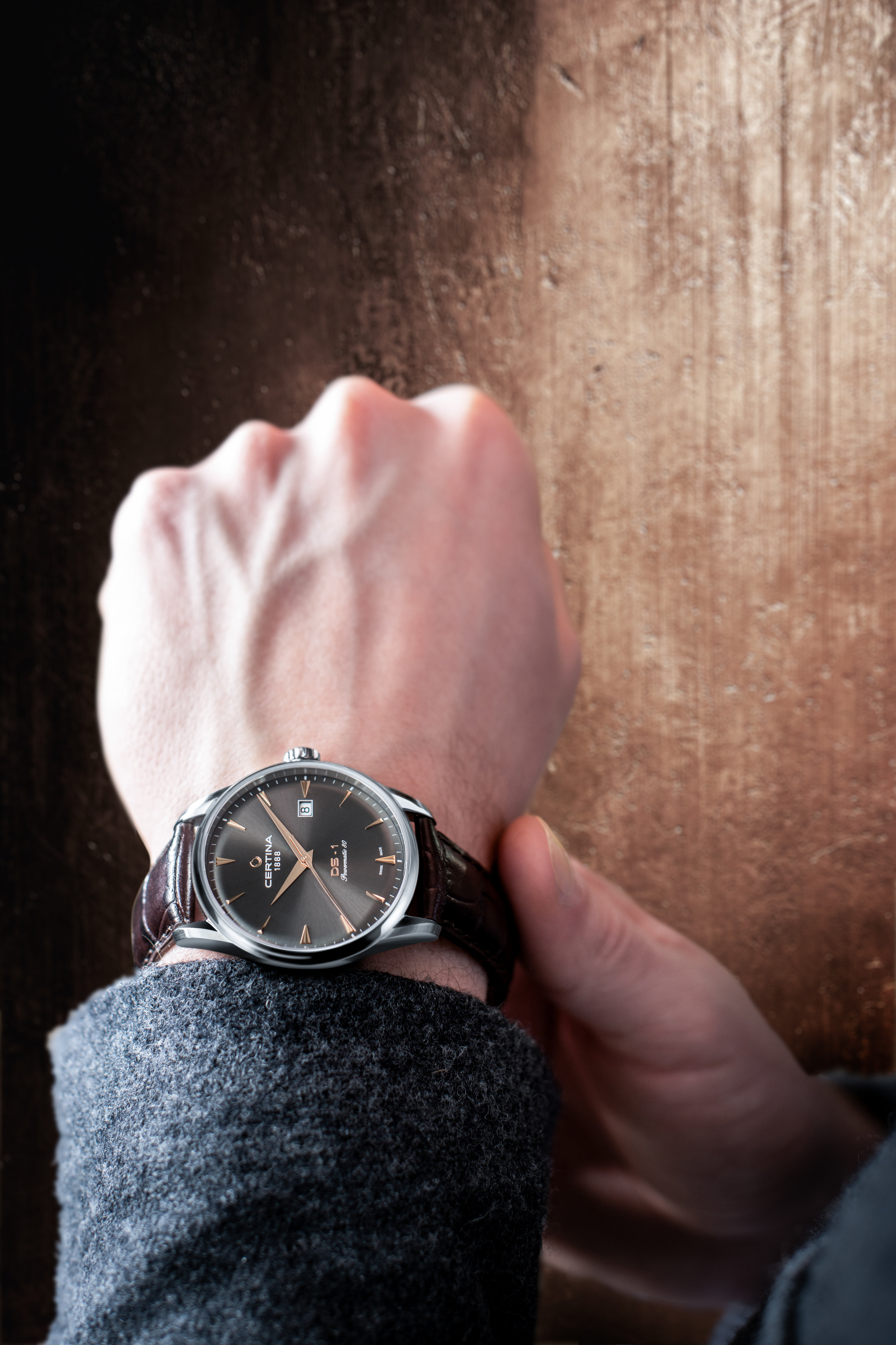 Certina C029.807.16.081.01 DS-1 Powermatic 80 zegarek klasyczny DS-1