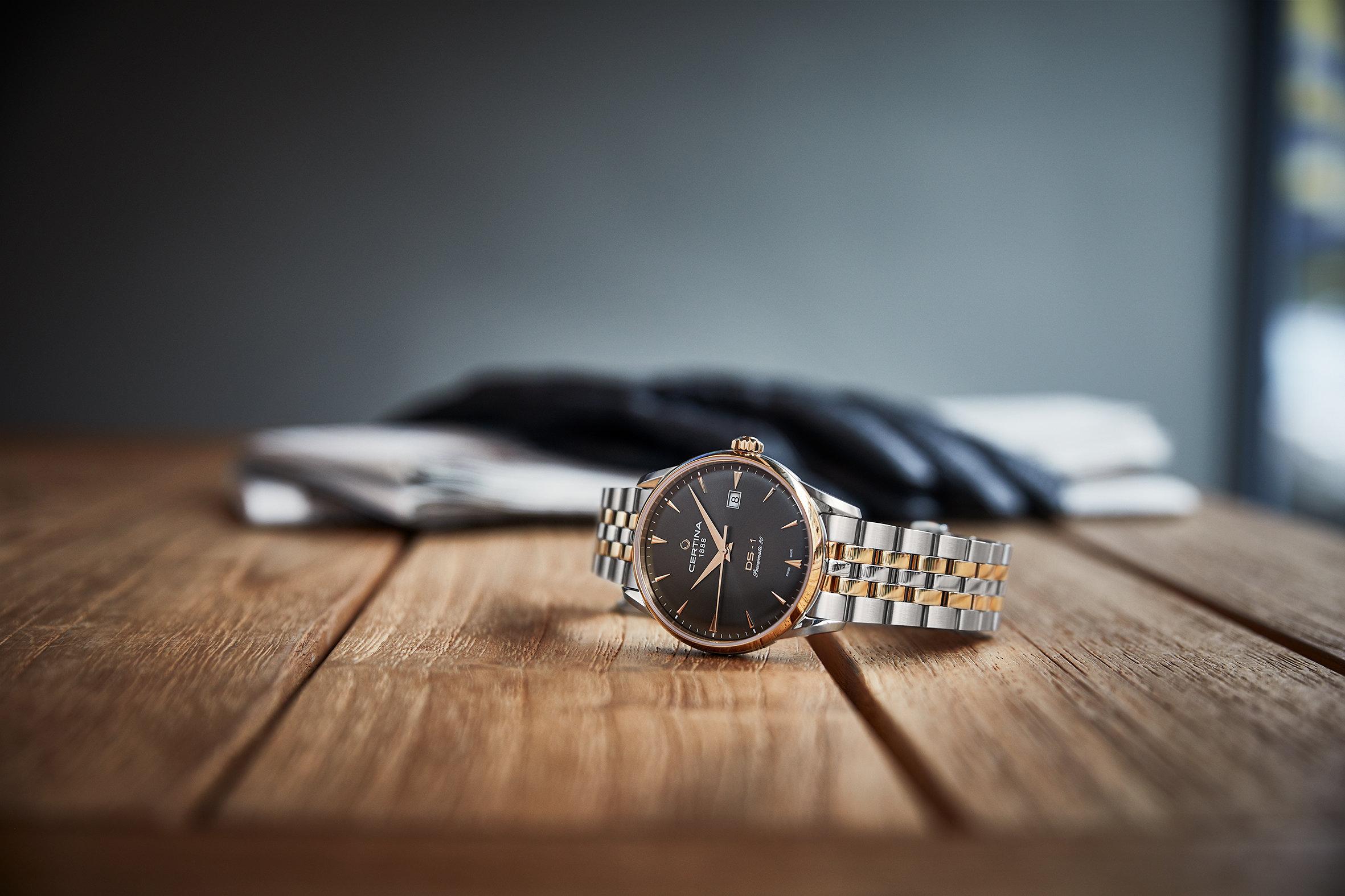 Certina C029.807.22.081.00 męski zegarek DS-1 bransoleta