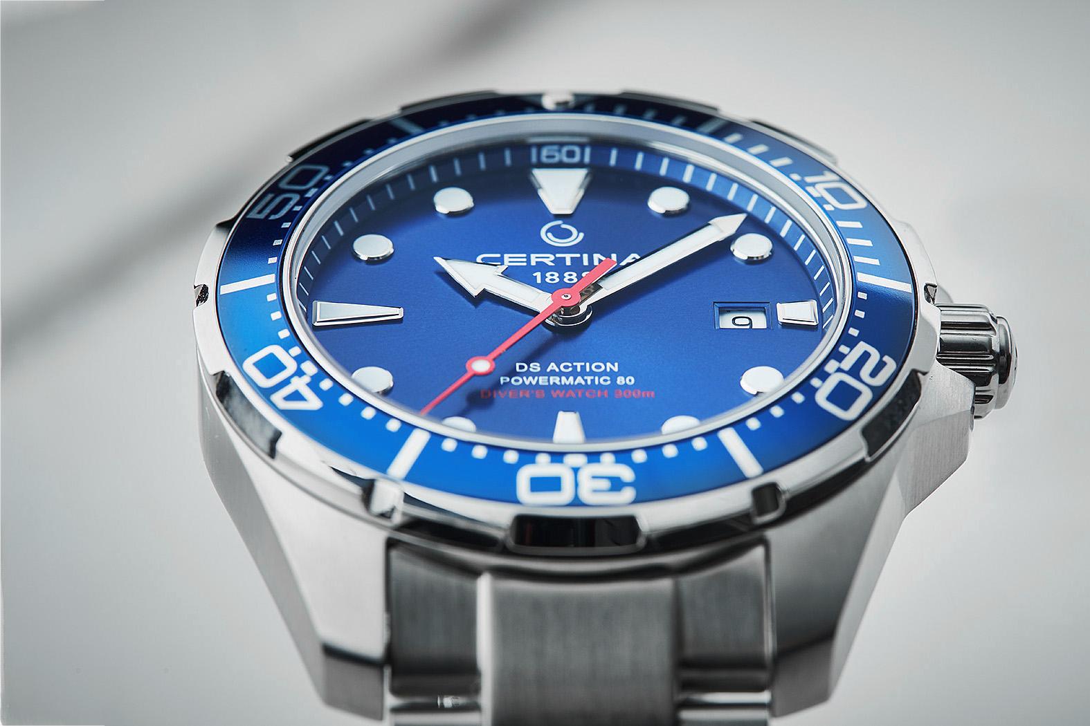 zegarek Certina C032.407.11.041.00 srebrny DS Action