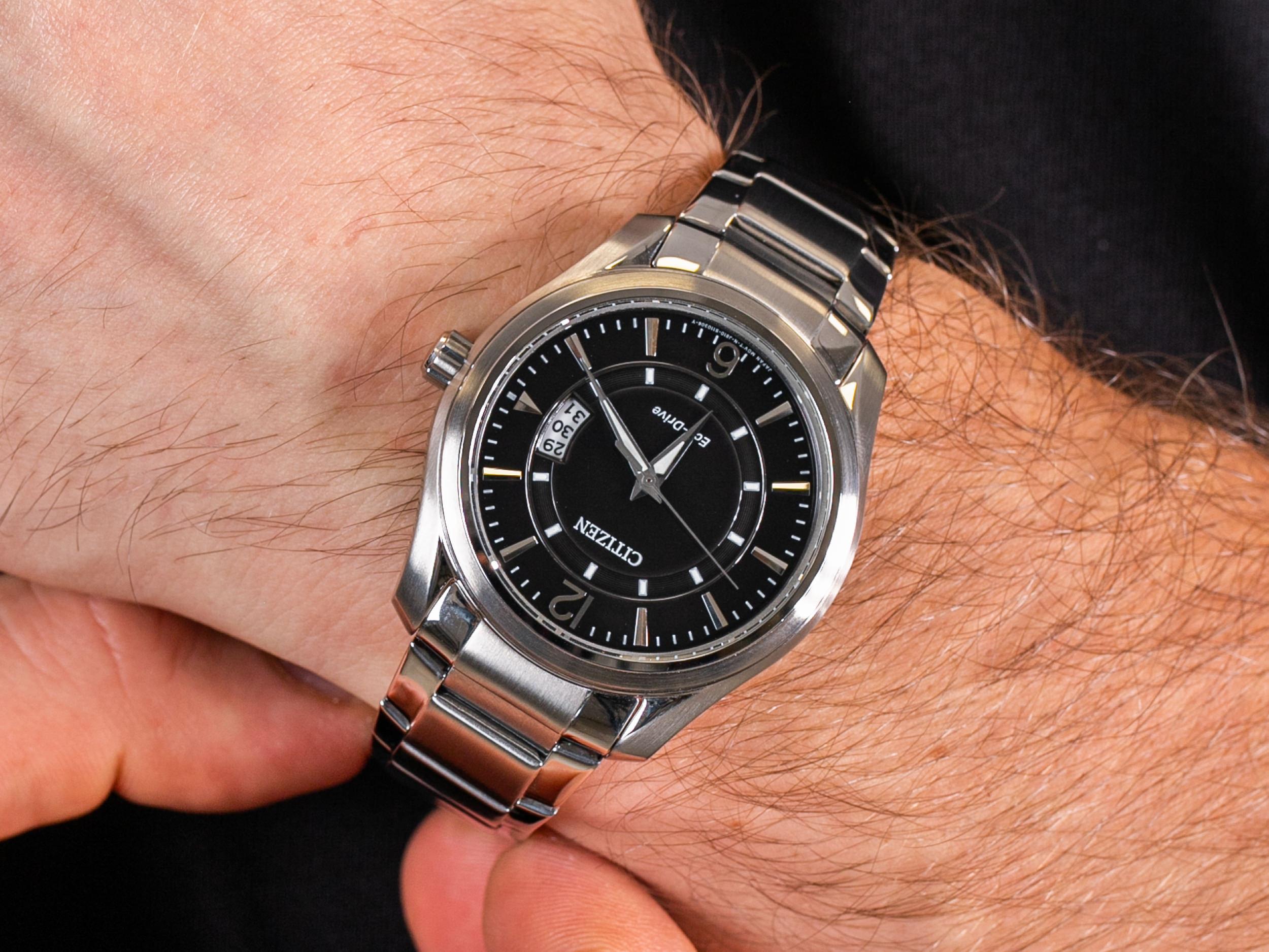 Citizen AW1030-50E zegarek klasyczny Ecodrive